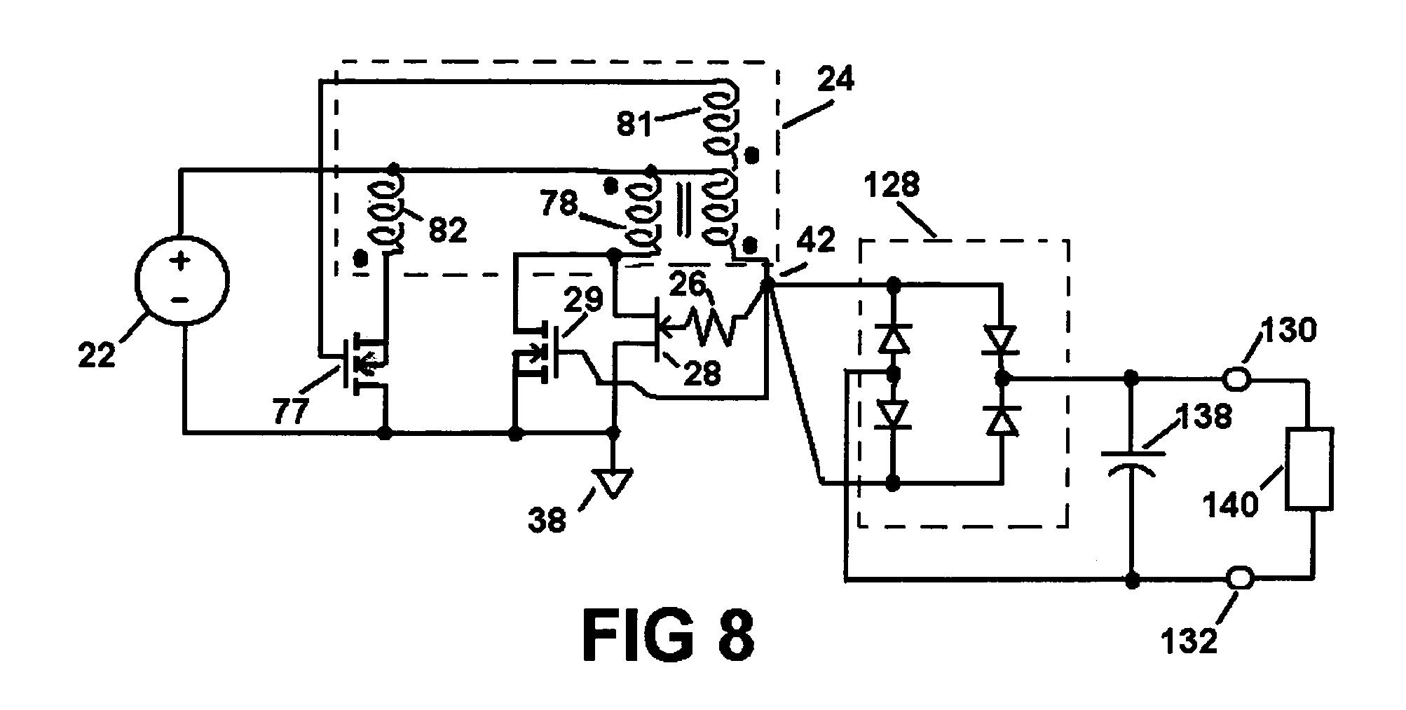 Highvoltage Generator Circuit Diagram Tradeoficcom Wiring Low Battery Indicator Us20100208498 Ultra Voltage Boost