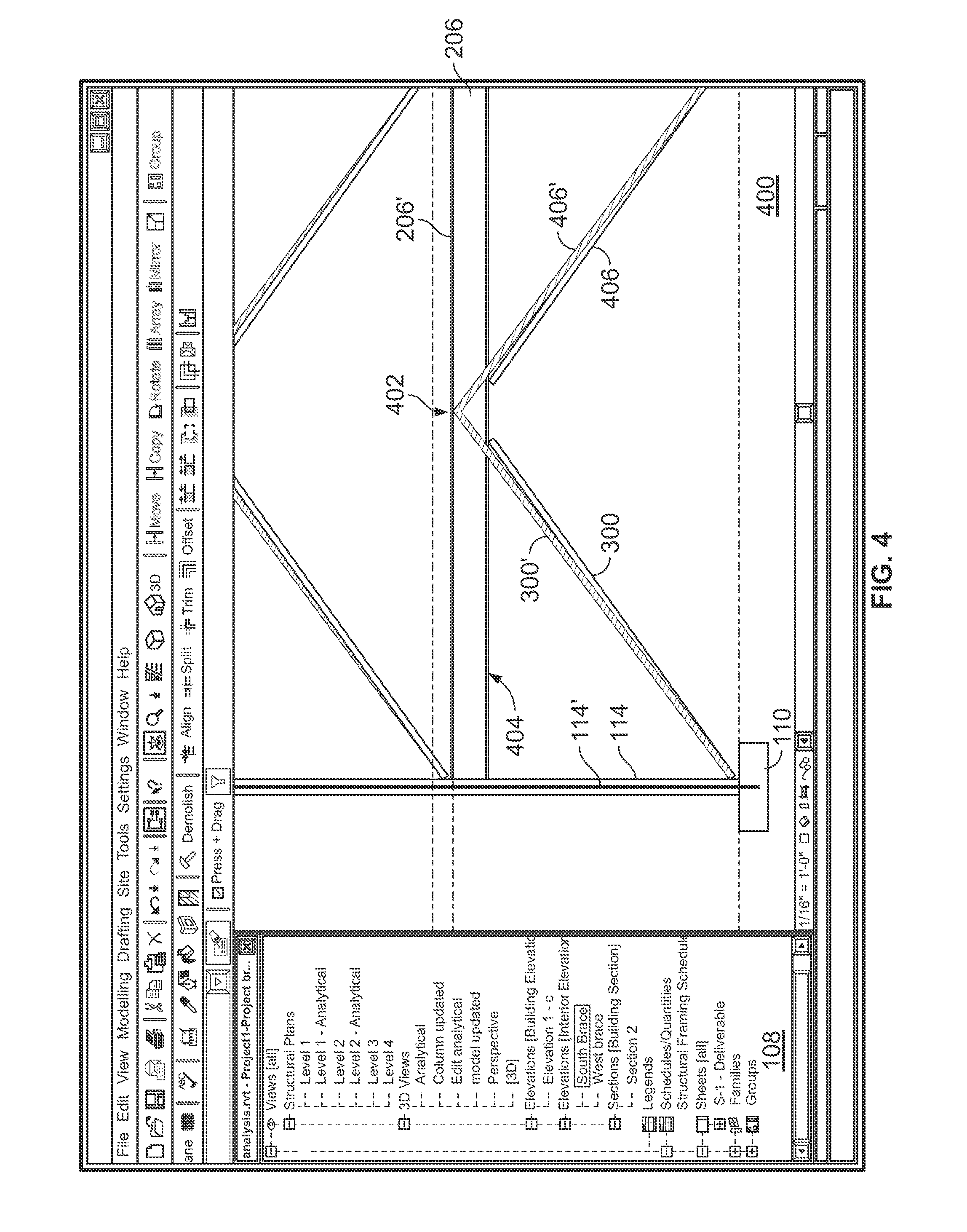Patent Us20100235148 Transferring Structural Loads And Show Transcribed Image Text Draw The Shear Bendingmoment Diagrams Drawing