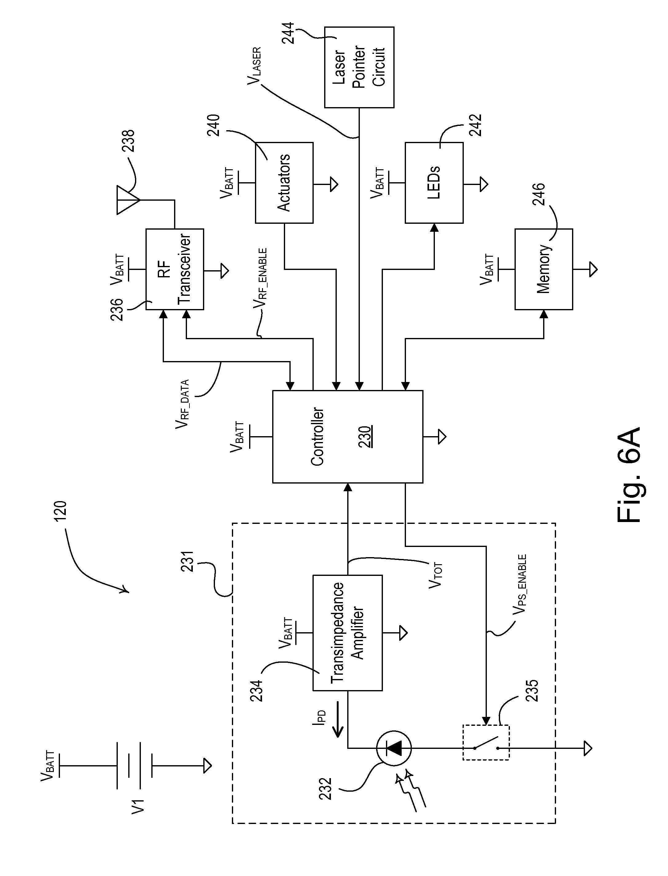 Patent Us20100244709 Wireless Battery Powered Daylight Sensor Lutron Mar Wiring Diagram Drawing