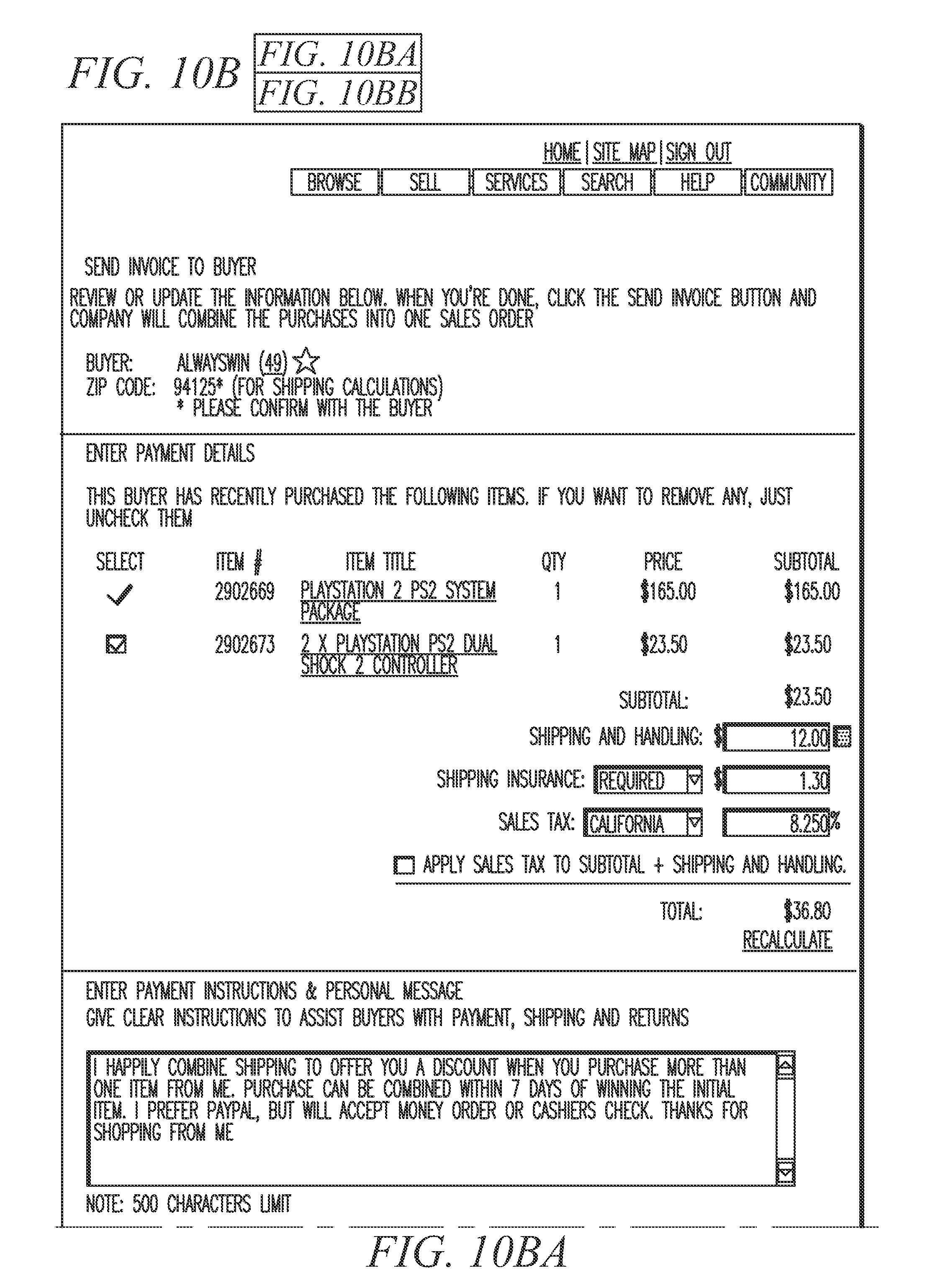 Airprint Thermal Receipt Printer Pdf Patent Us  Invoicing System  Google Patents Invoice Generator Com with Pancake Receipts Excel Patent Drawing Invoice Free Pdf