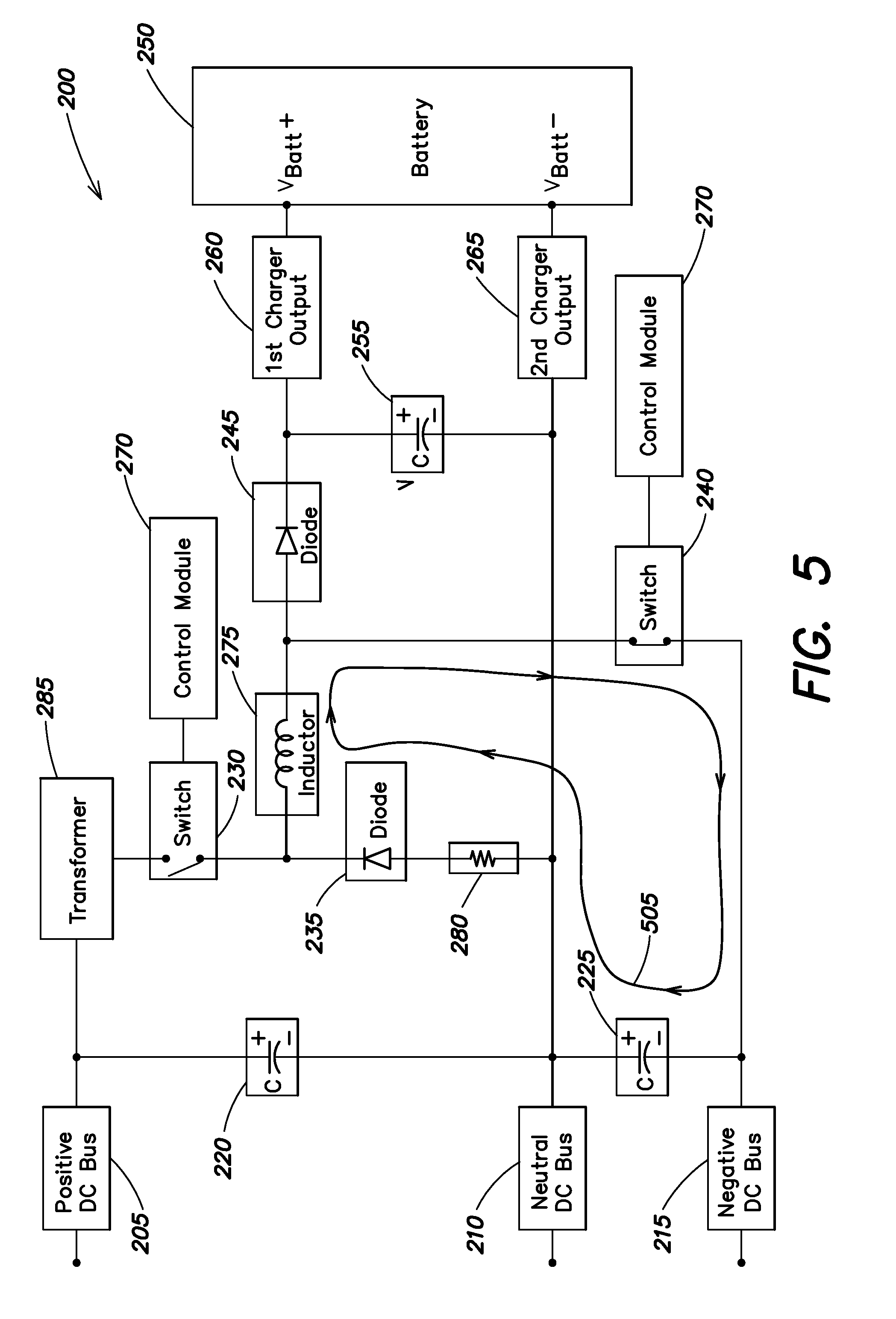 Patent Us20100270977 Non Isolated Charger With Bi Polar Inputs Nonisolated Switching Power Supply Circuit Diagram Drawing