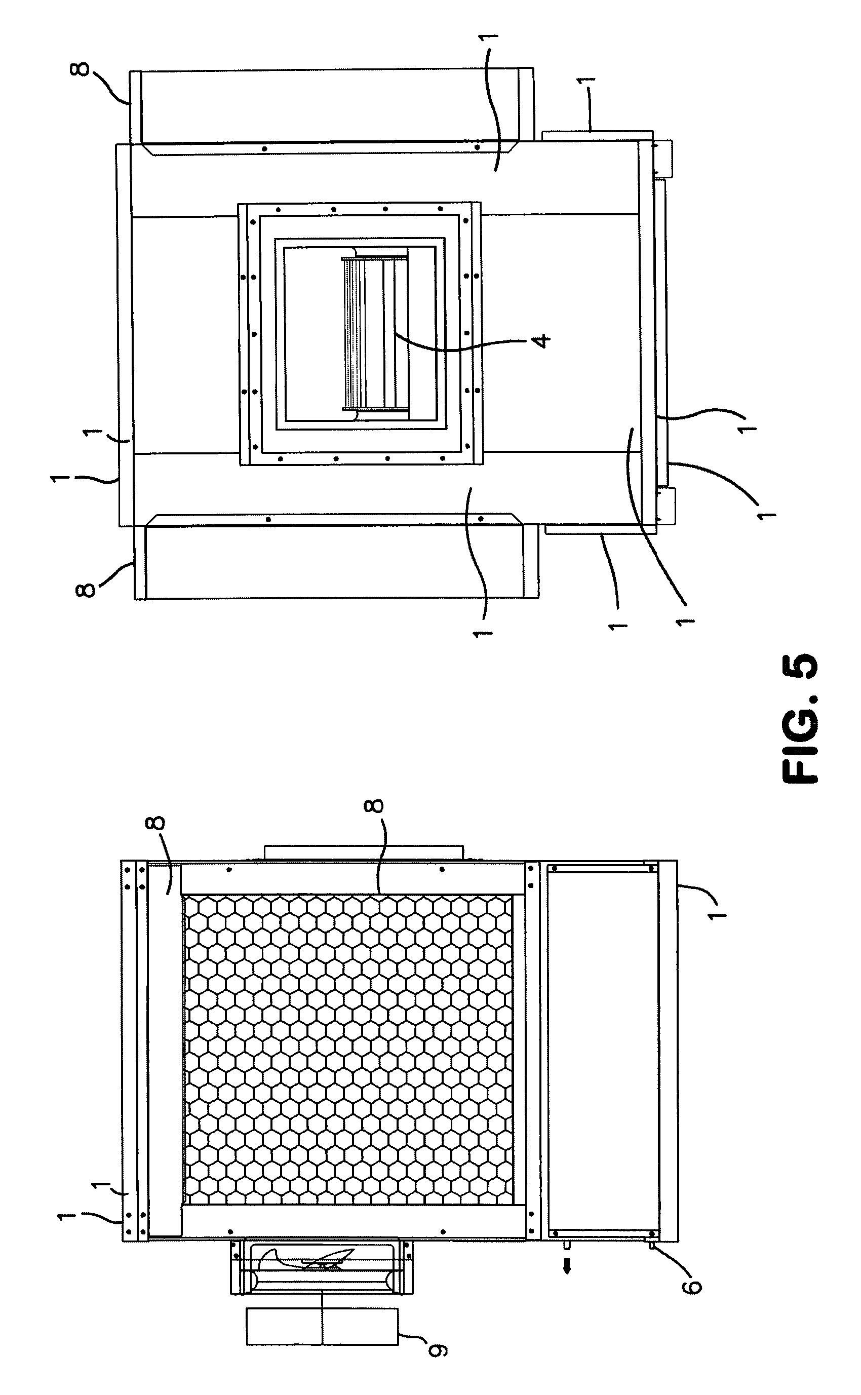 Evaporative Cooling Multi Sycle : Patent us  evaporative air cooler with multi