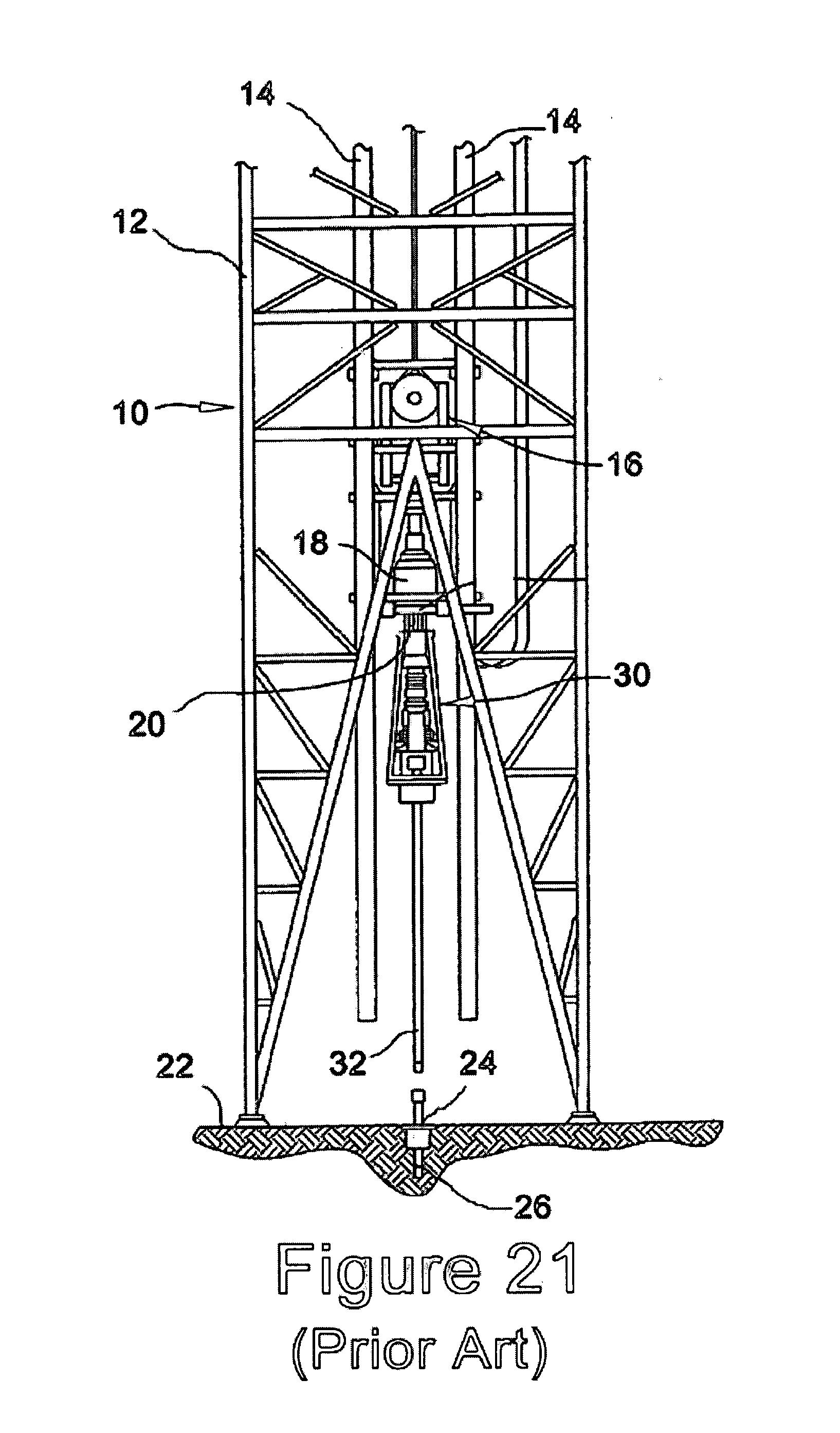 Rig Floor Elevation : Patent us  well tubular running tool google