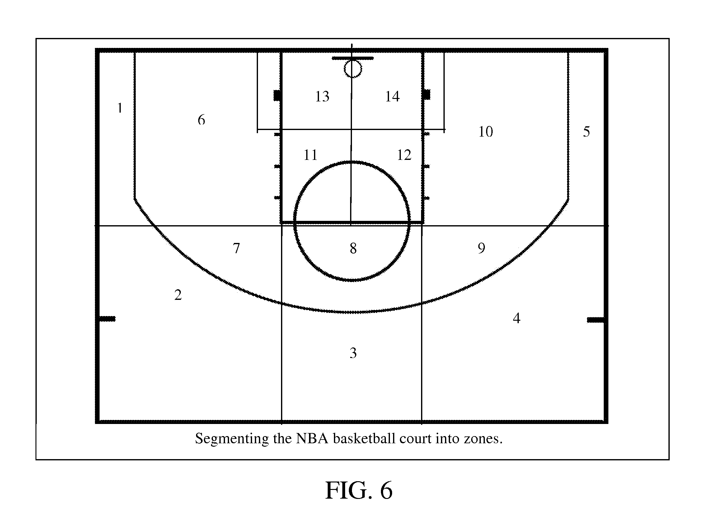 Blank basketball court diagram new calendar template site for Basketball court design template