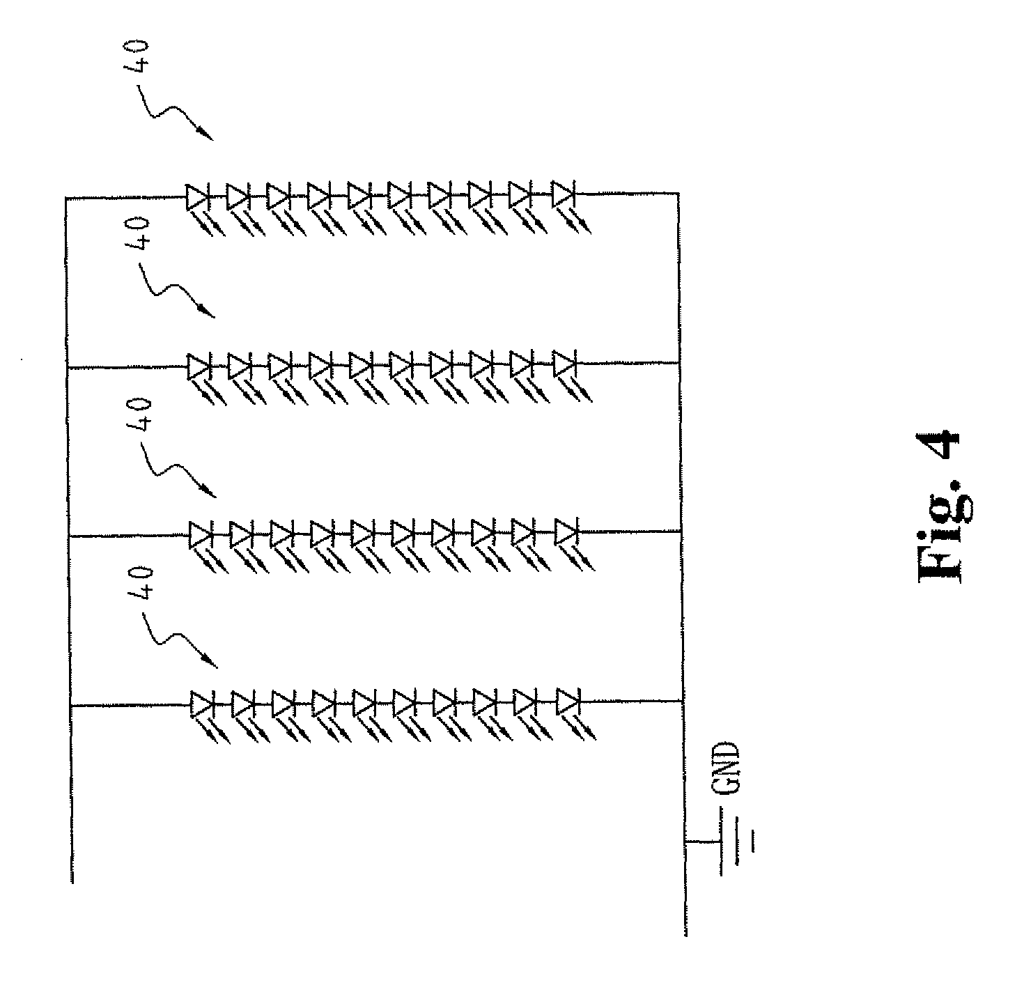 US20110025216 on diode anode cathode positive negative