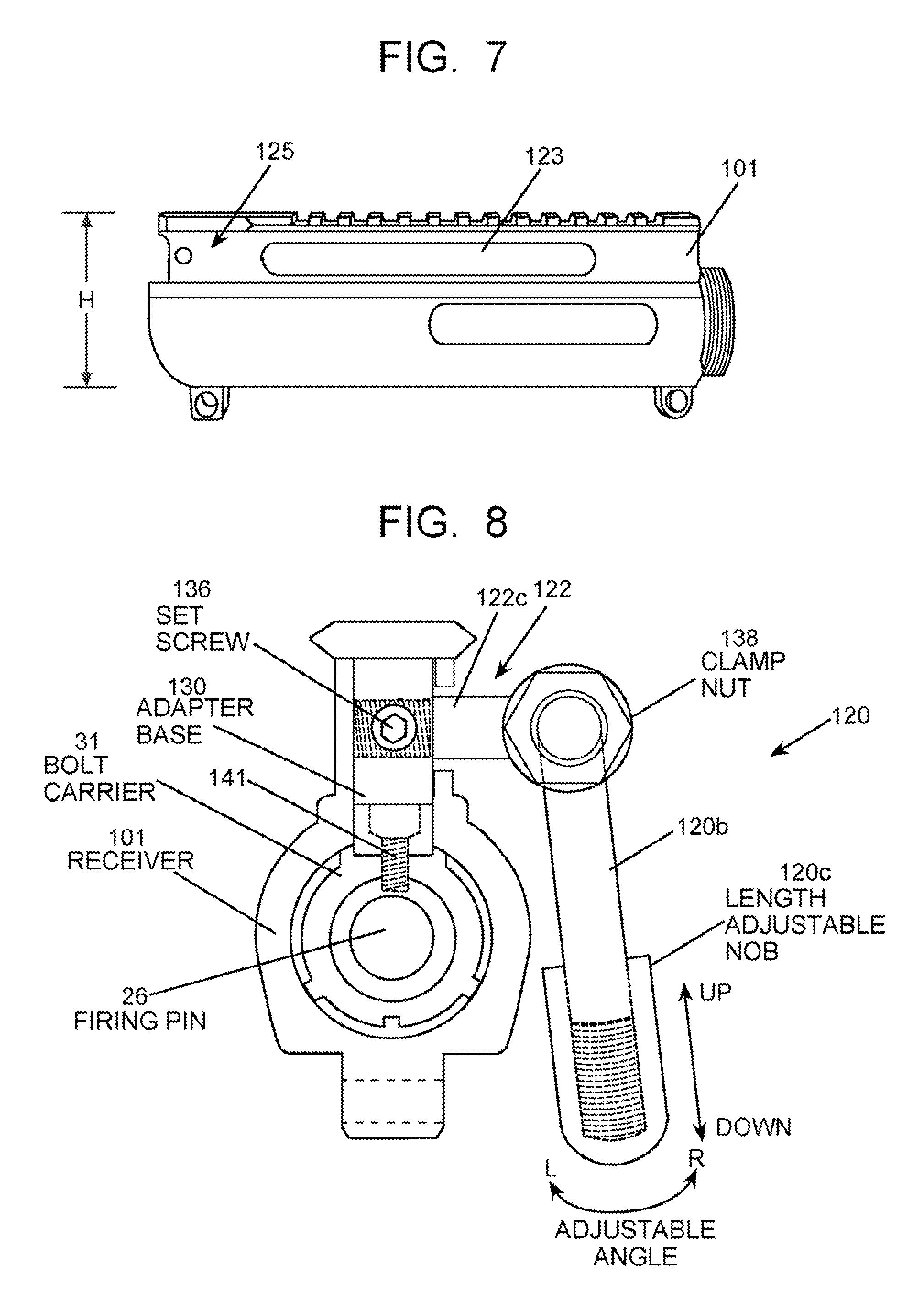 Patent us20110061523 semi bolt receiver assembly for for Arkansas blueprint
