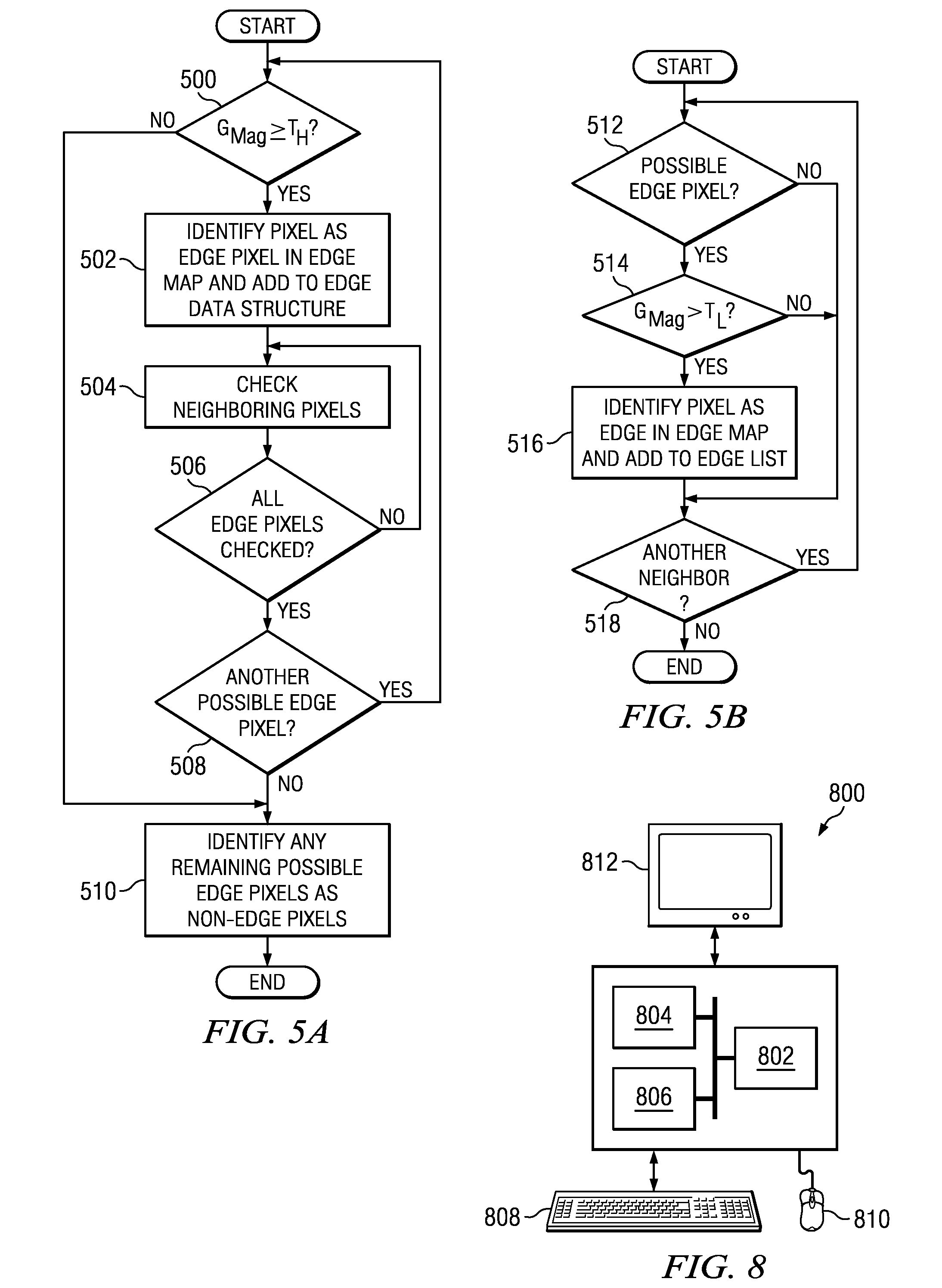patent us20110081087 - fast hysteresis thresholding in canny edge detection
