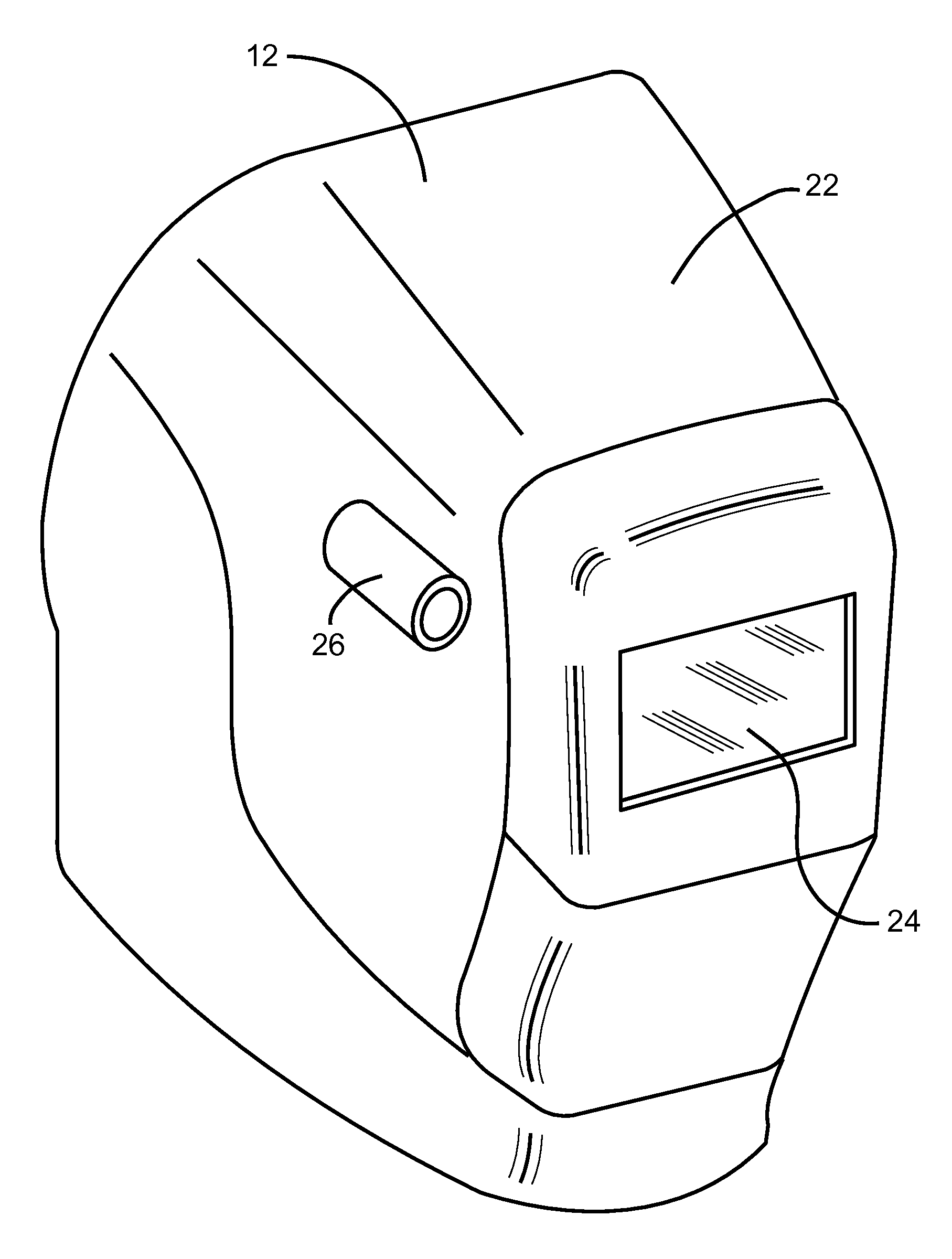 Welding Shield Diagram Bookmark About Wiring Helmet Patent Us20110083241 With Integral User Interface Rh Google Com Pg Curtains Face