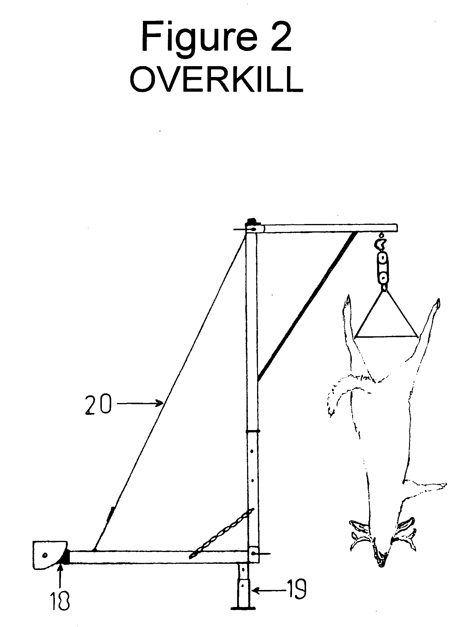 Deer skinning pole plans - Patent Us20110089209
