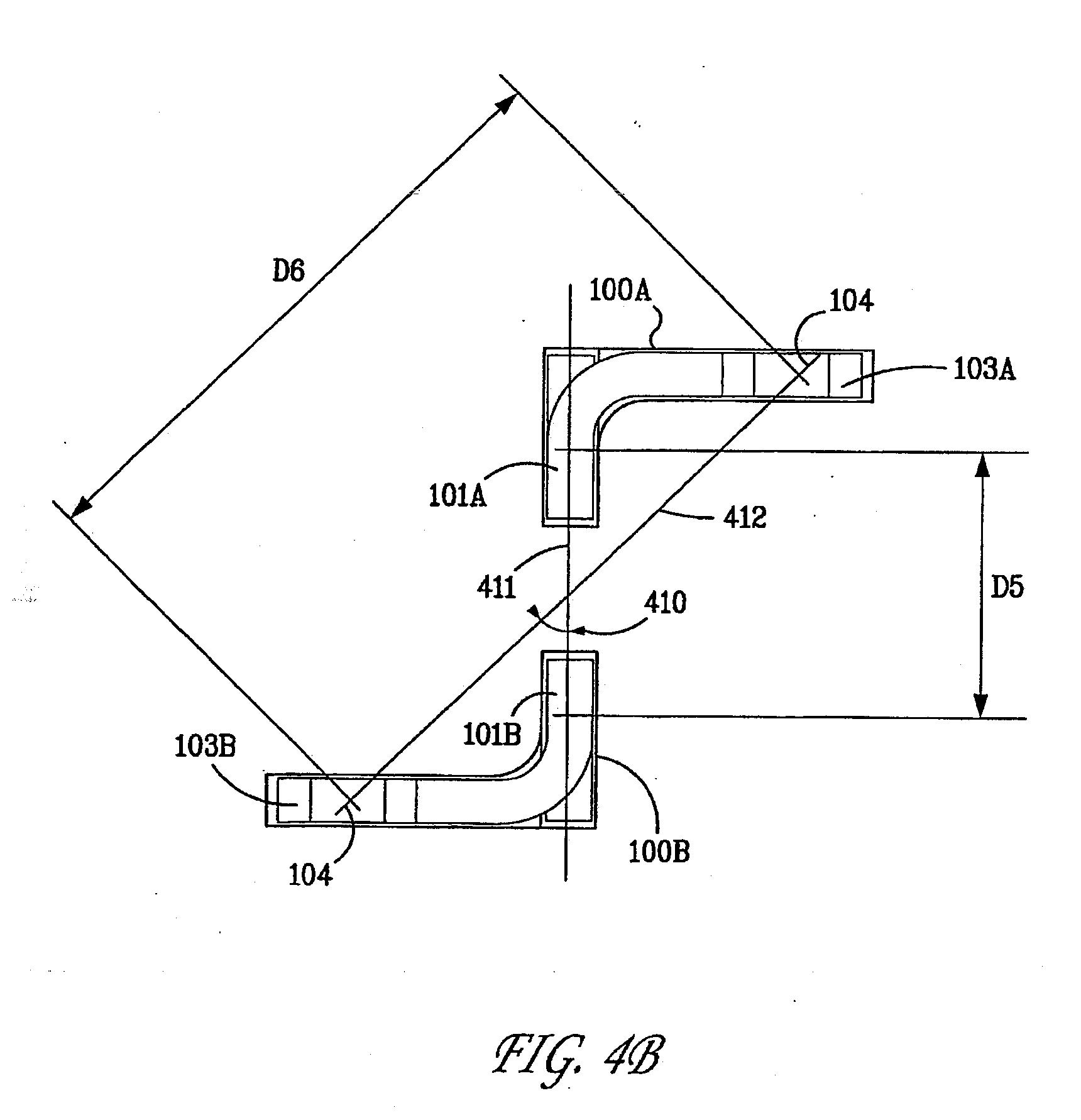 patent us20110113625 - orthogonal header