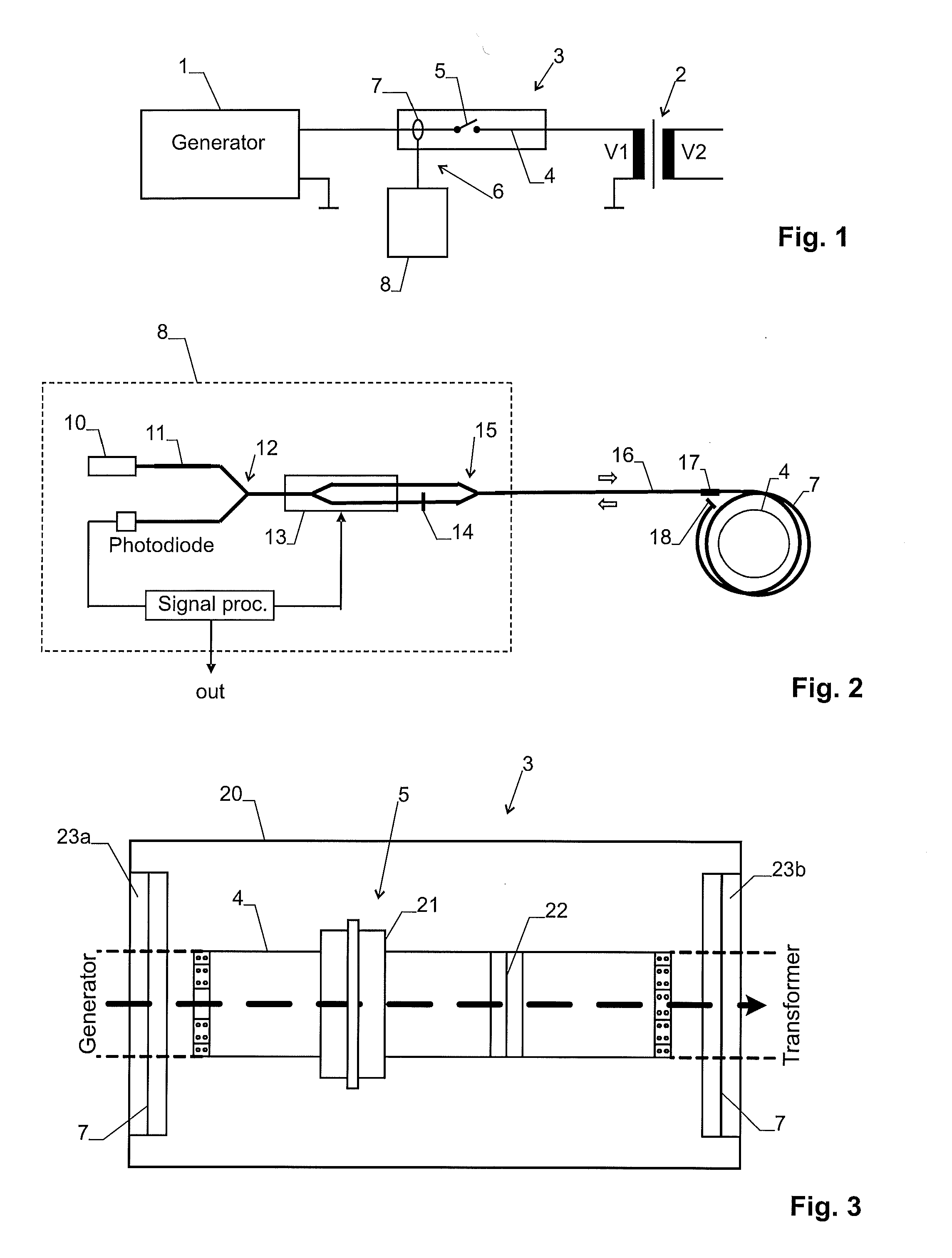 Patent Us20110128655 Generator Circuit Breaker With Fiber Optic Breakers Gcb Abb Drawing