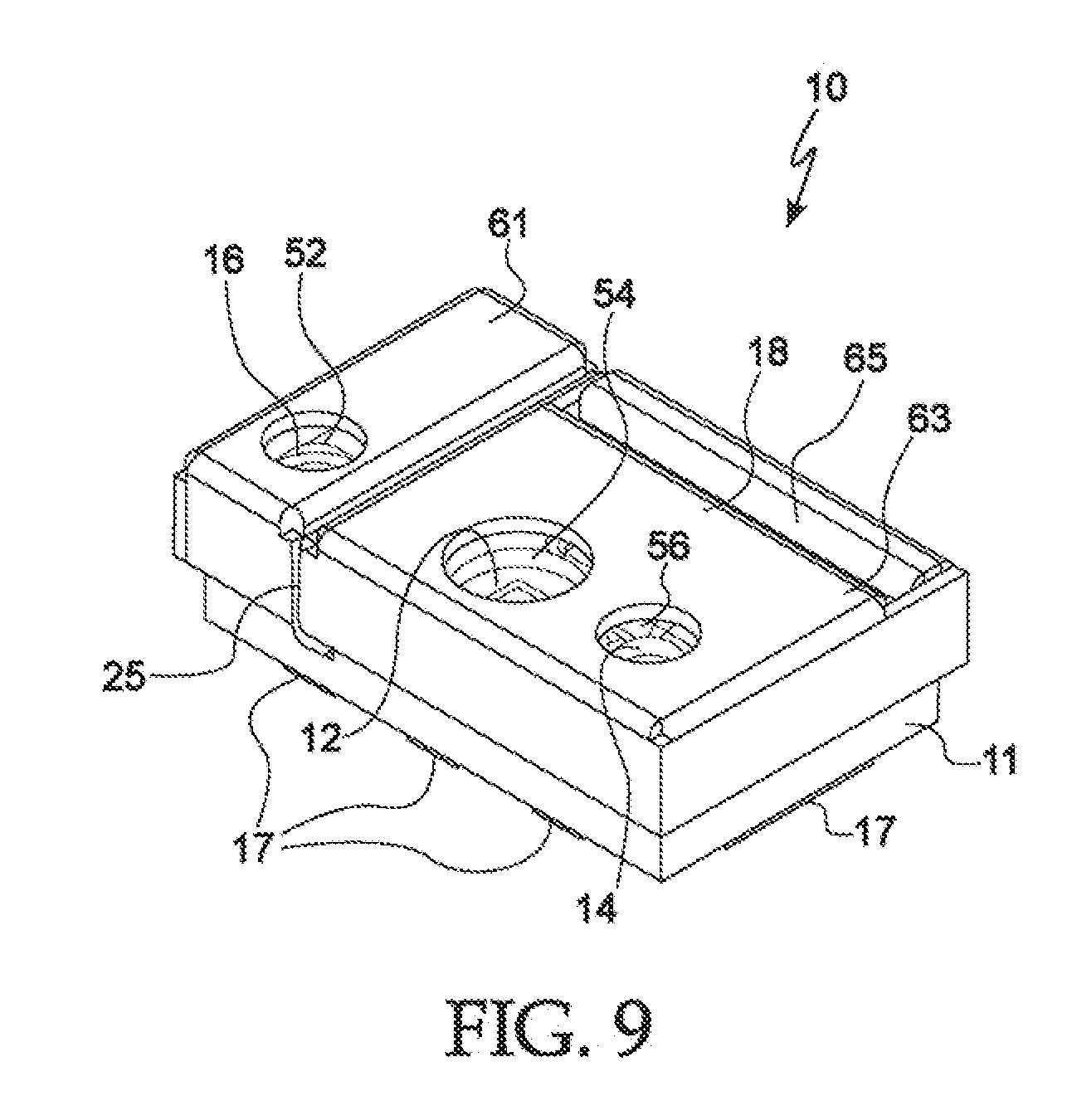 patent us20110133941 - optical proximity sensor with improved shield and lenses
