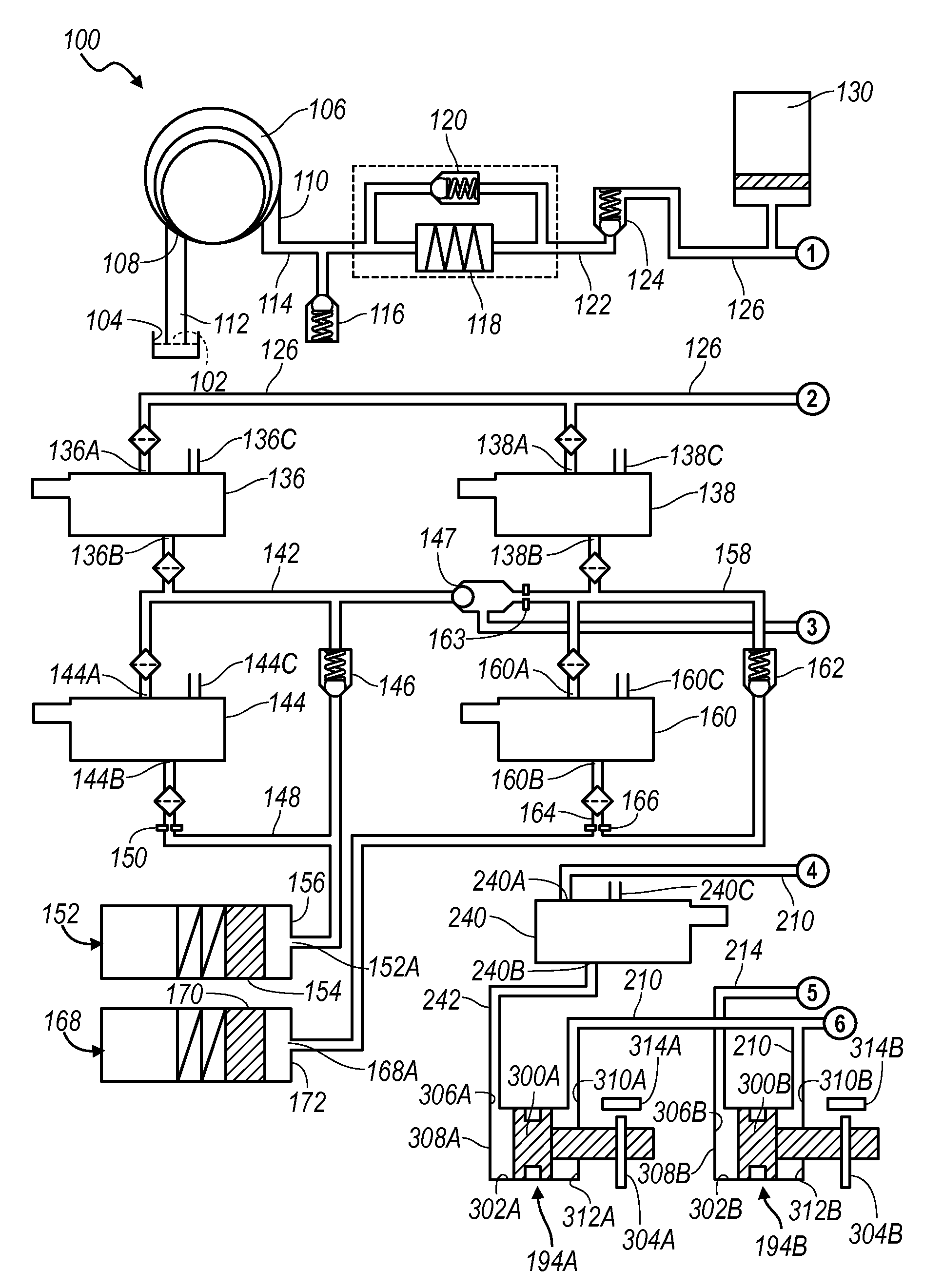 patent us20110138956 electro hydraulic control system for a dual Fiat Spider patent drawing