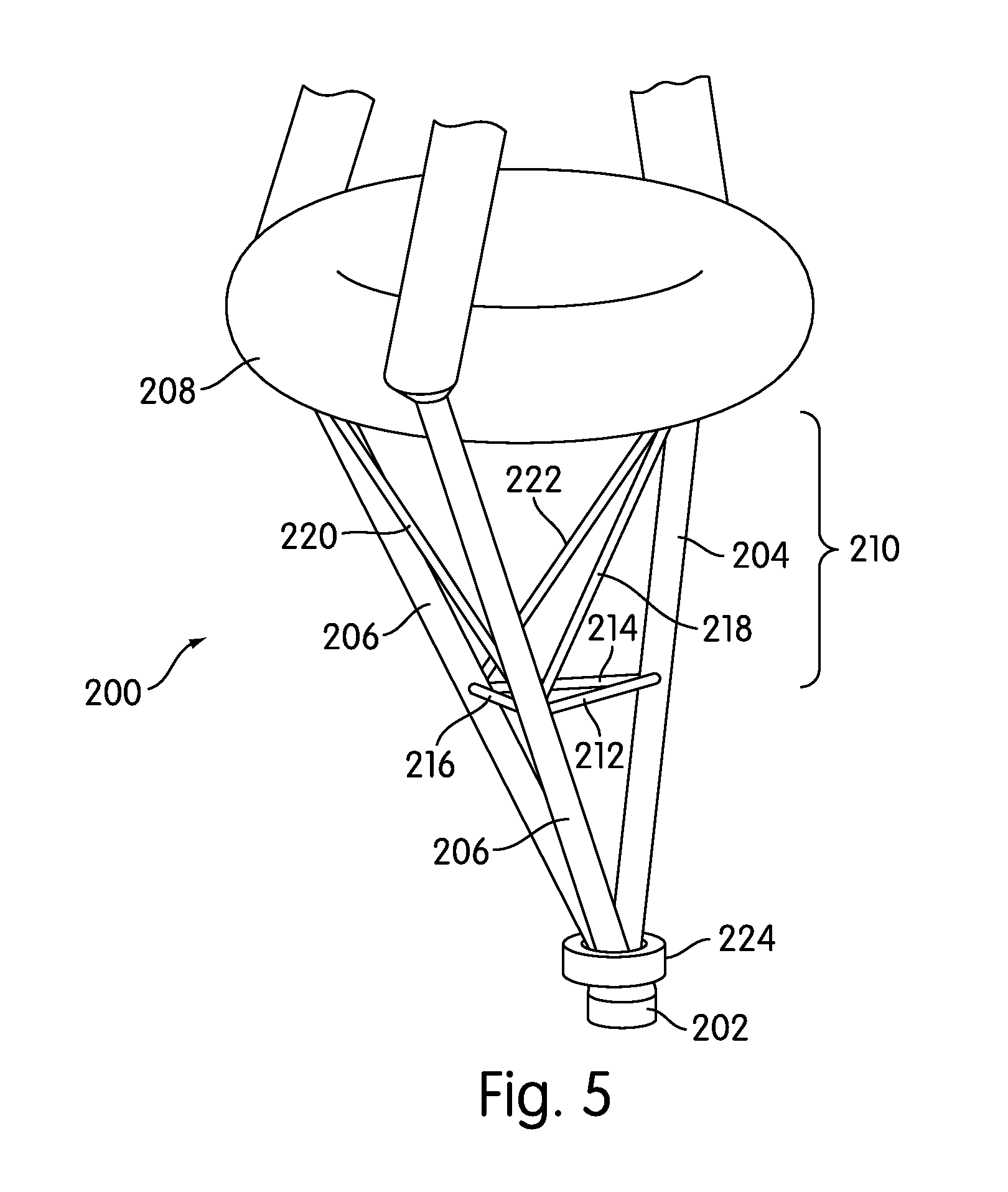 patent us20110142683 - floating underwater support structure