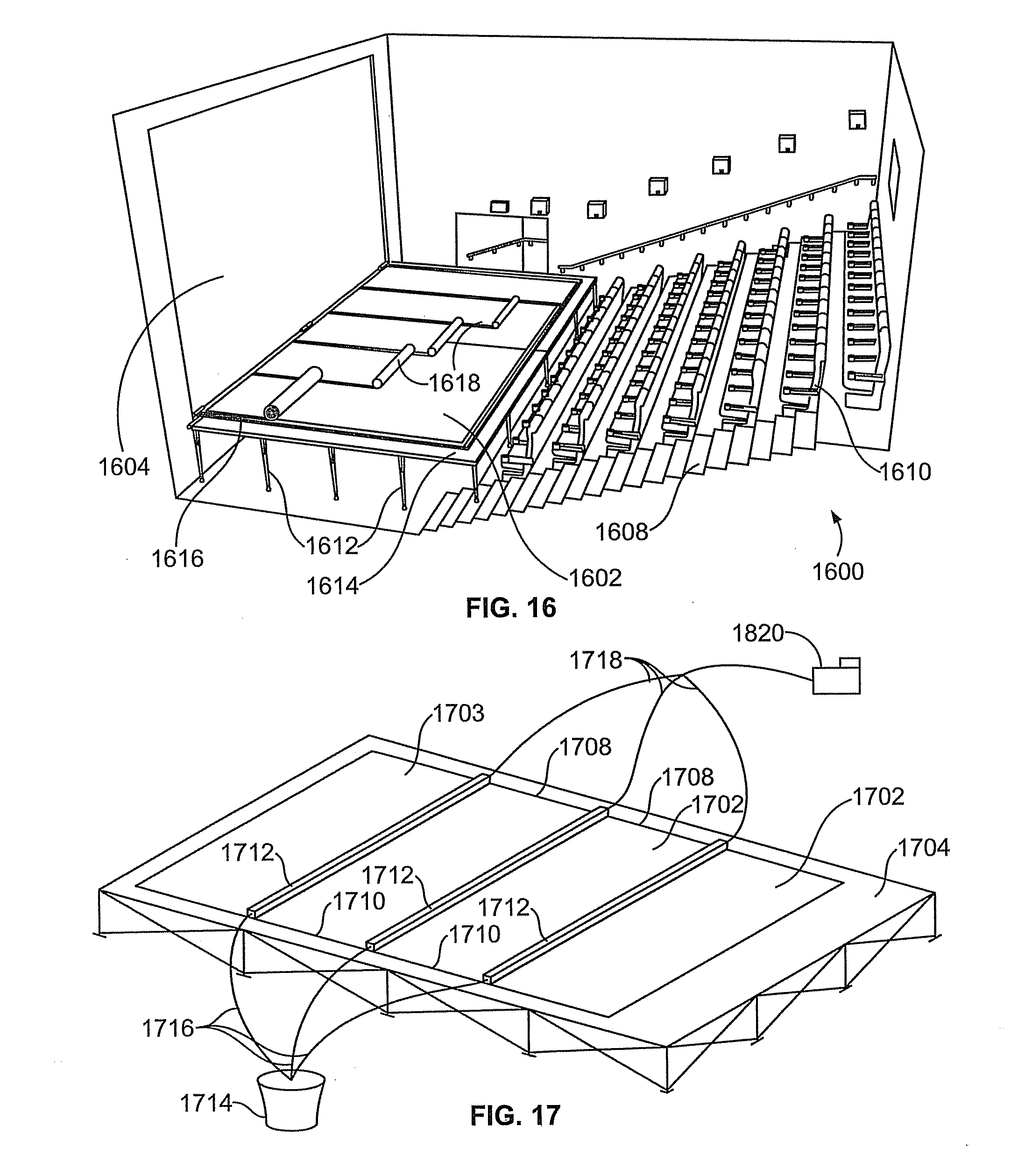 patent us20110157695 projection screen for displaying two  patent drawing