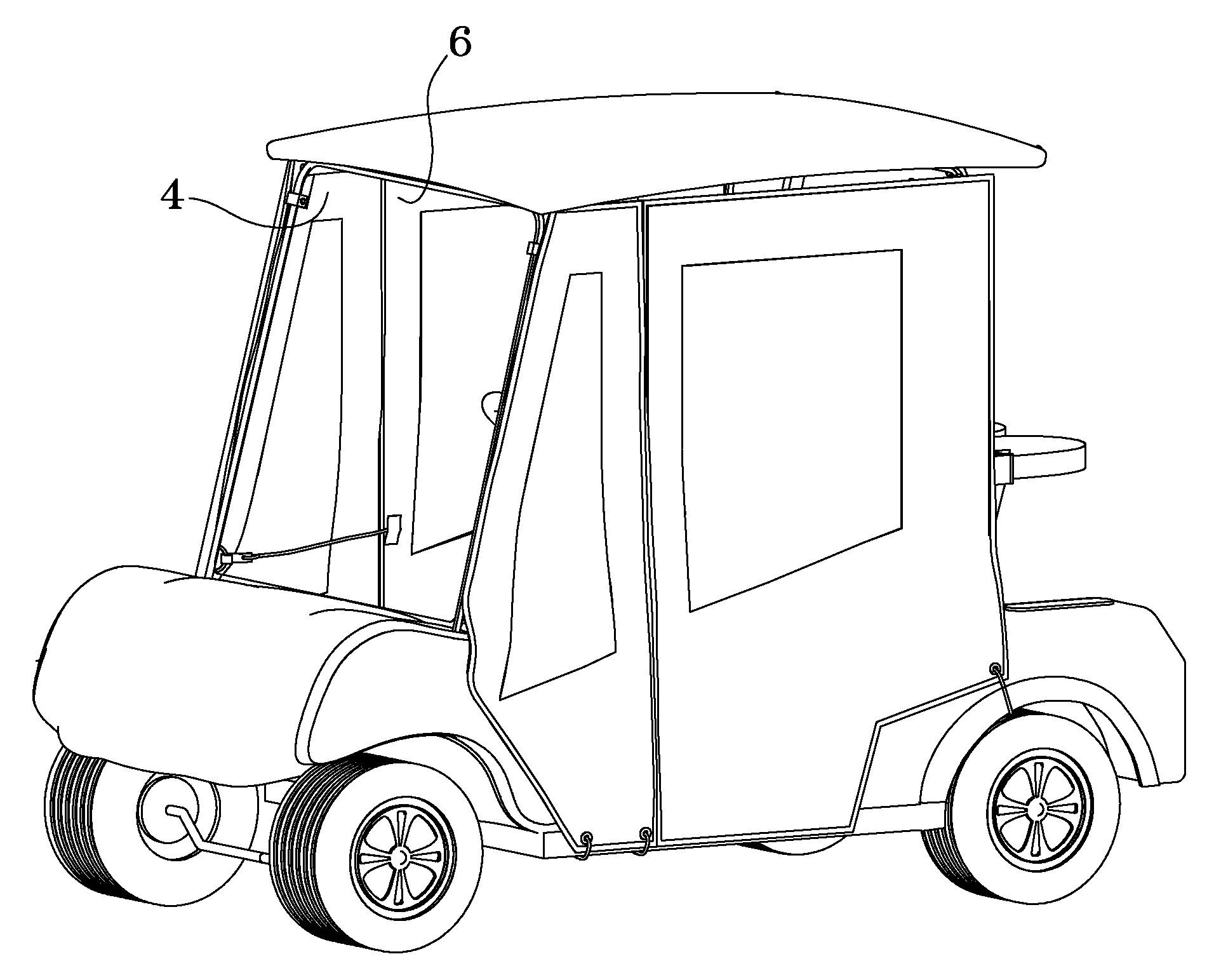 Image Result For Golf Cart Roof And Frame
