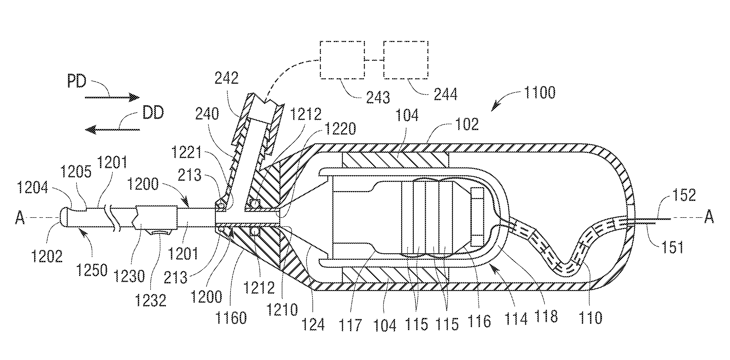 Patent US20110196403 - Outer sheath and blade arrangements for ...