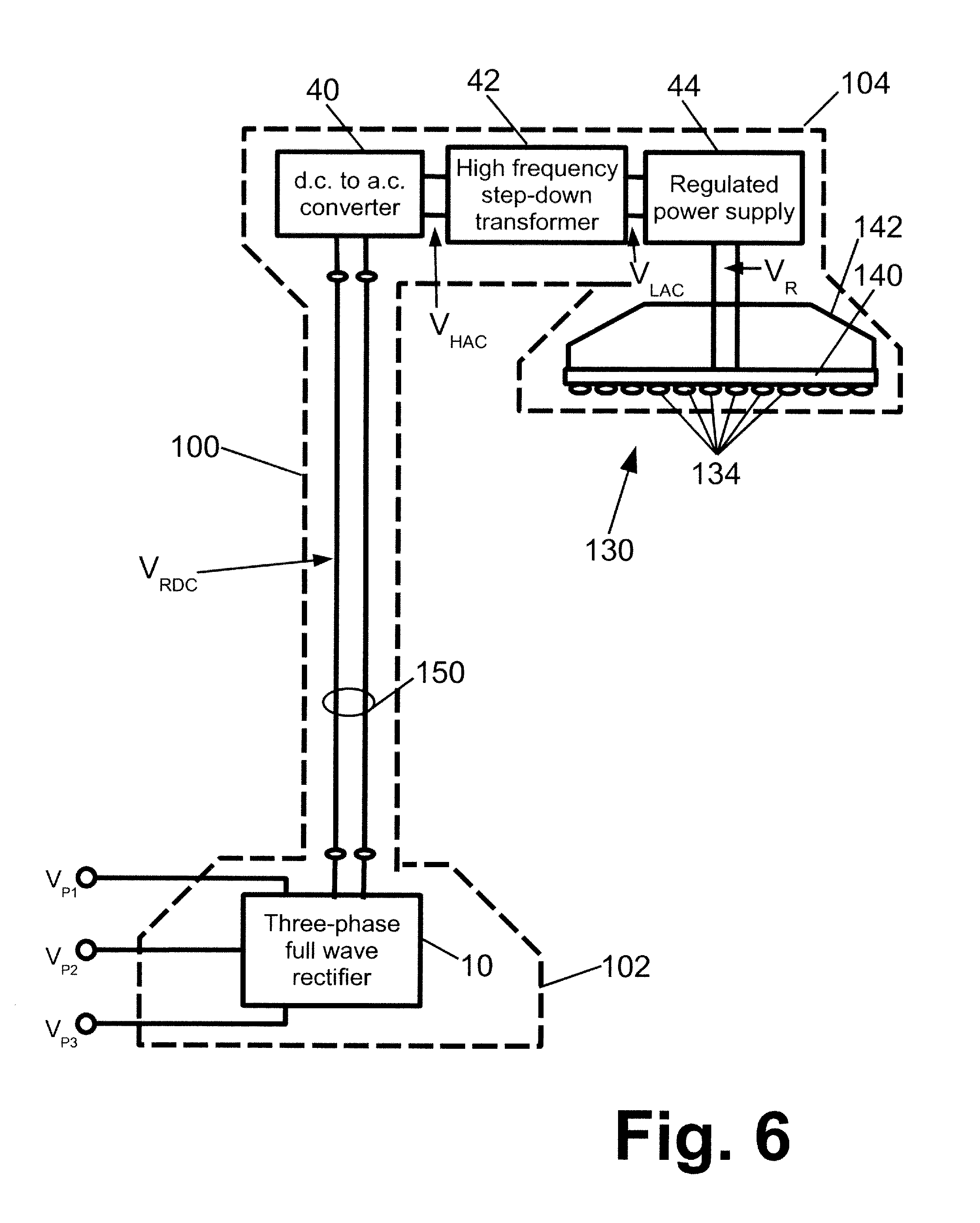 Patent Us20110234106 Three Phase Led Power Supply Google Patents Phillips Ballast Wiring Diagram Single 208 Drawing