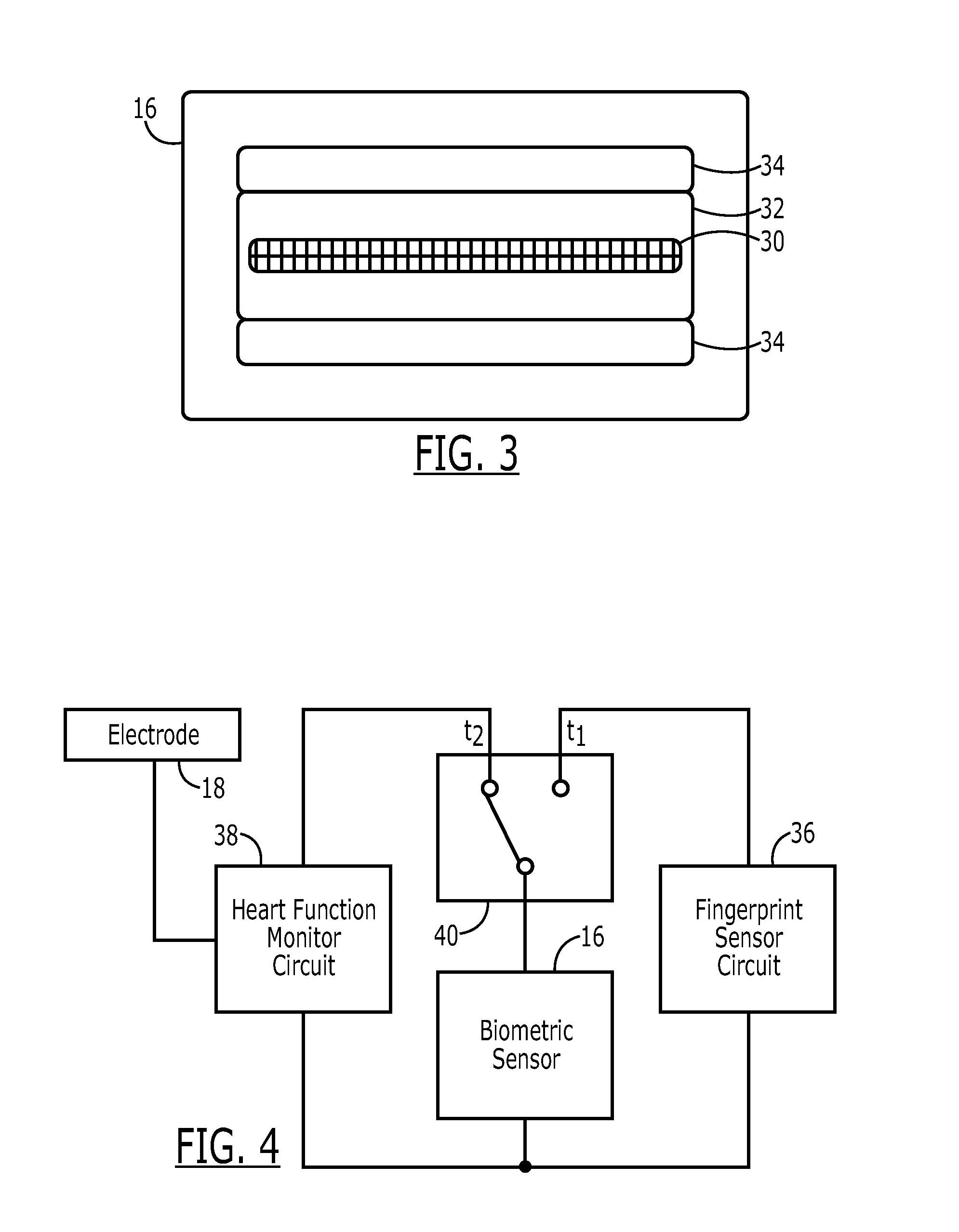 Us20110257546 Biometric Sensor And Heart Function Heartbeatmonitorcircuitjpg Patent Drawing