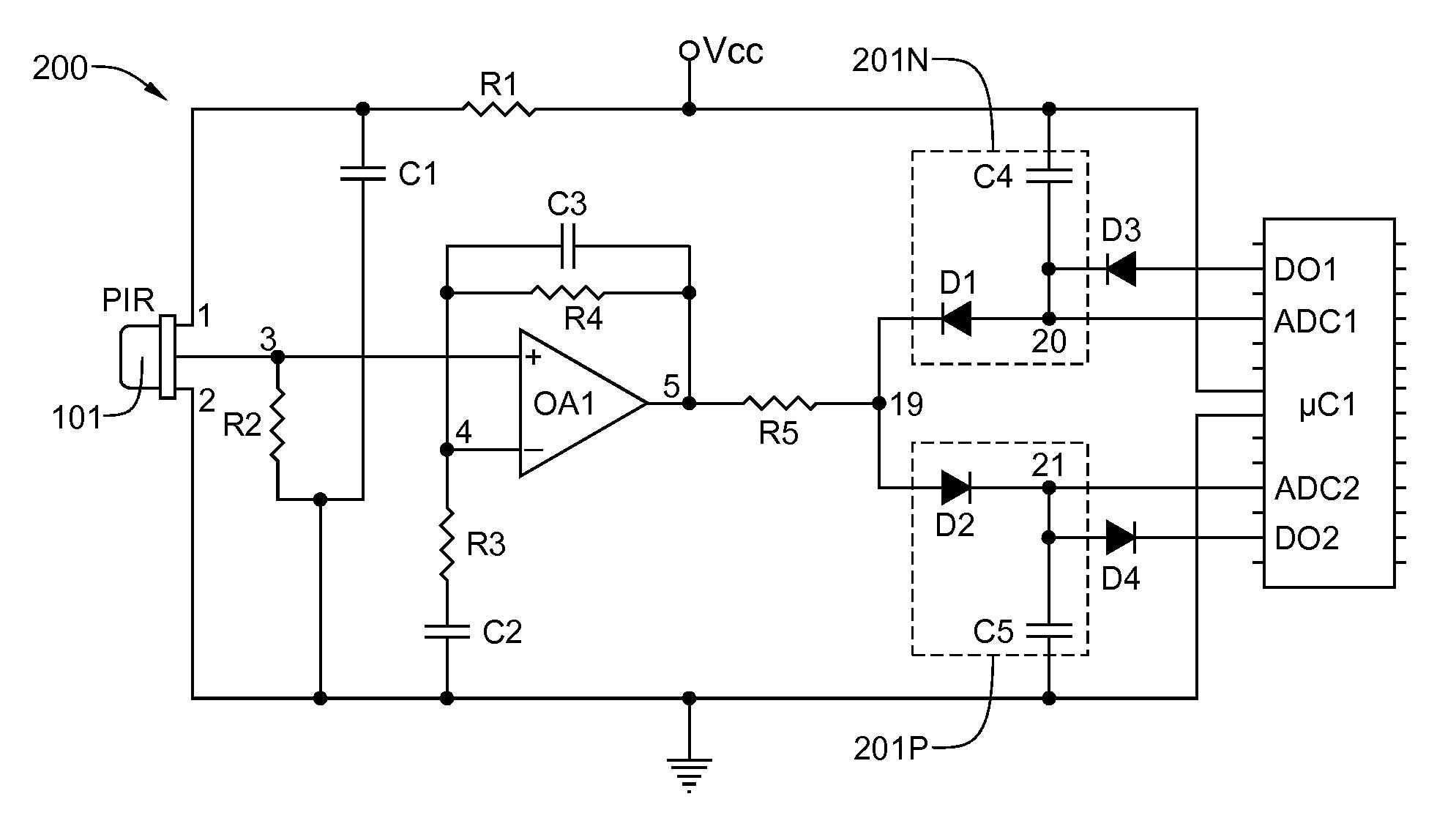 Patent Us20110297830 Ultra Low Power Occupancy Sensor
