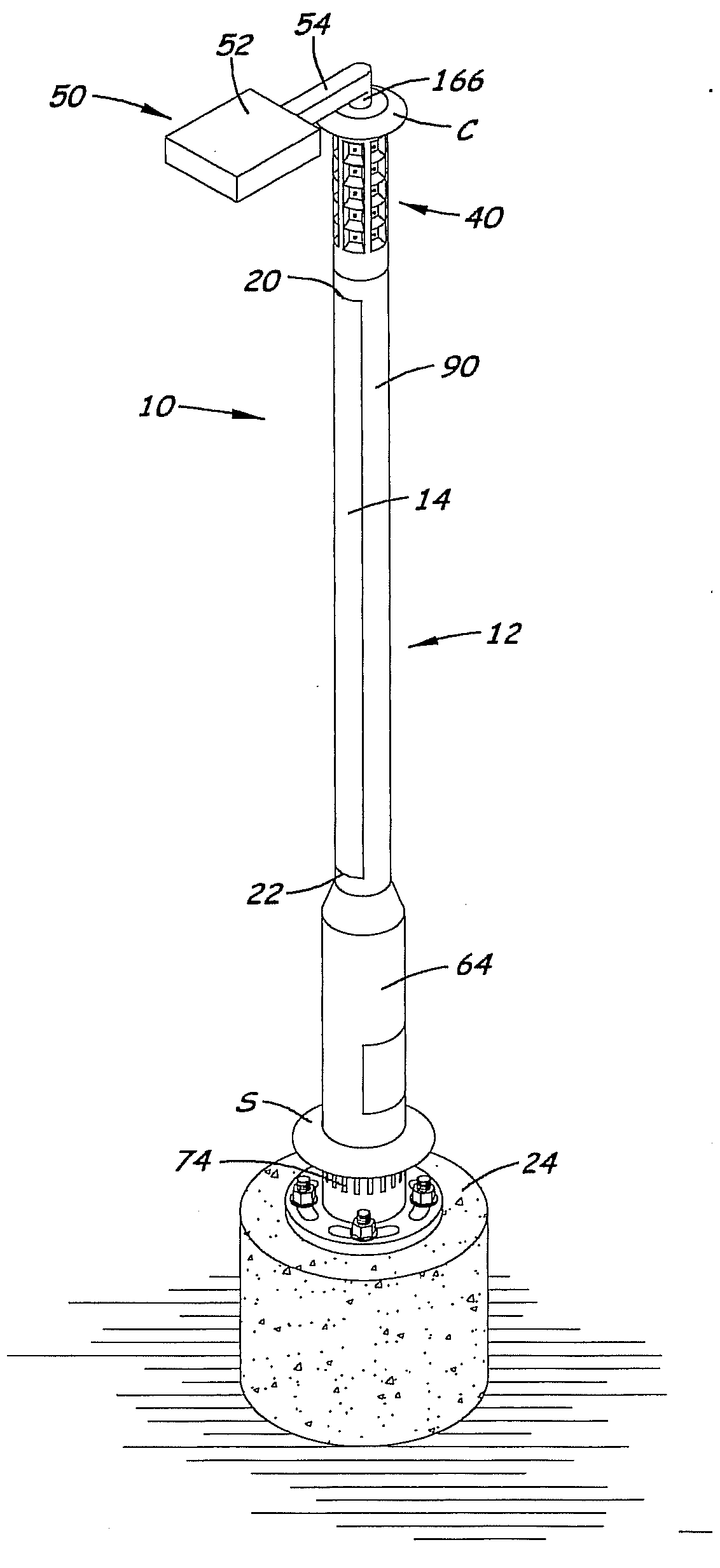 patent us20120020060 energy efficient solar powered outdoor What Are Solar Panels Made Of patent drawing