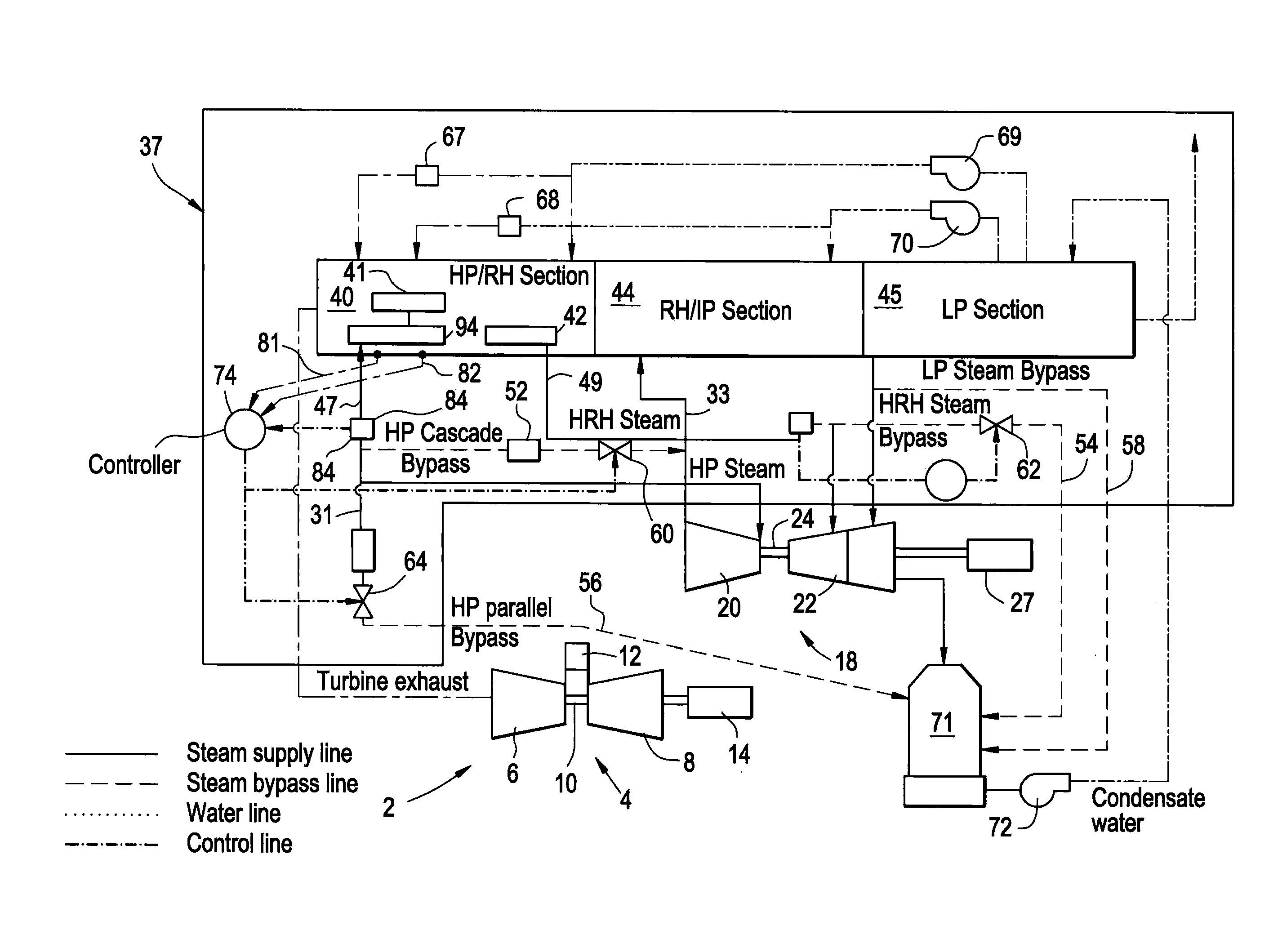 Patent US bined Cycle Power Plant Including a Heat