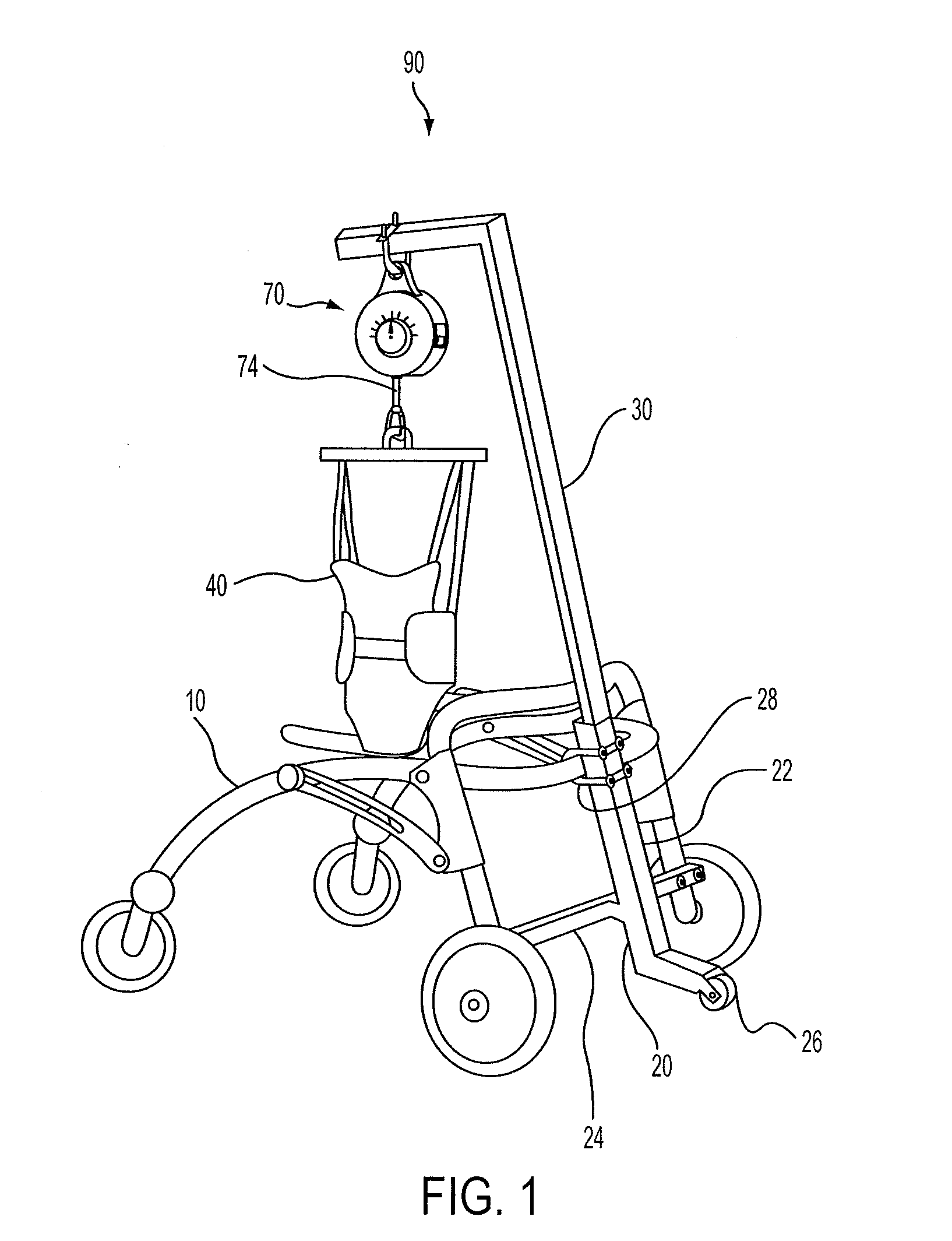 Patent Us20120042917 Gait Training Apparatuses