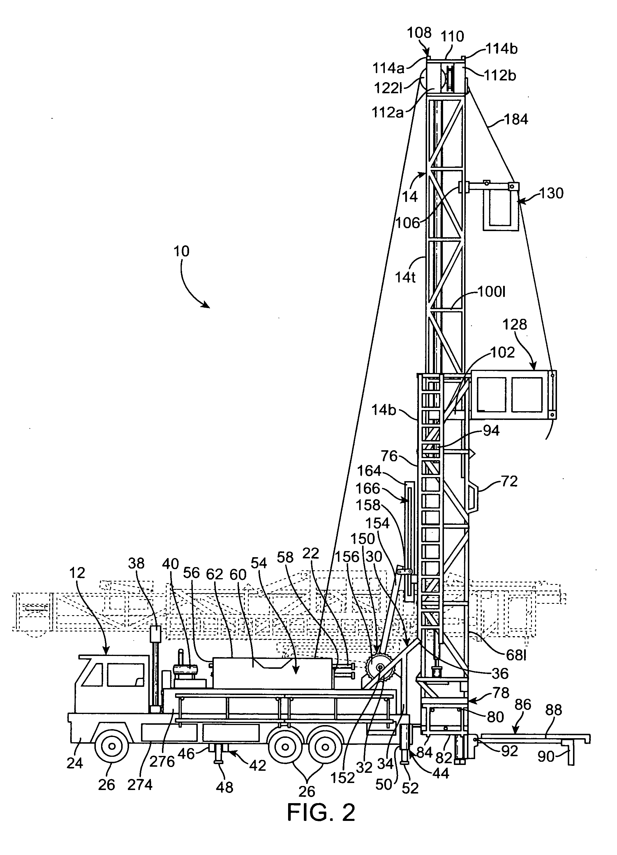patent us20120045964 - toy workover rig