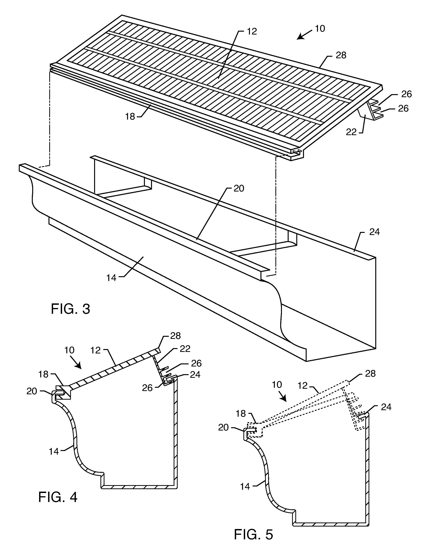 patent us20120047817 - solar energy rain gutter system