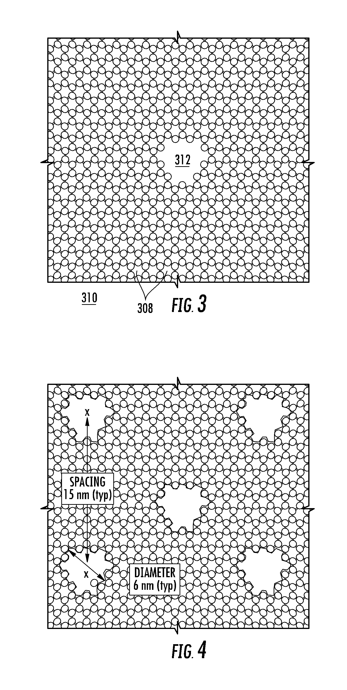 patent us perforated graphene deionization or  patent drawing