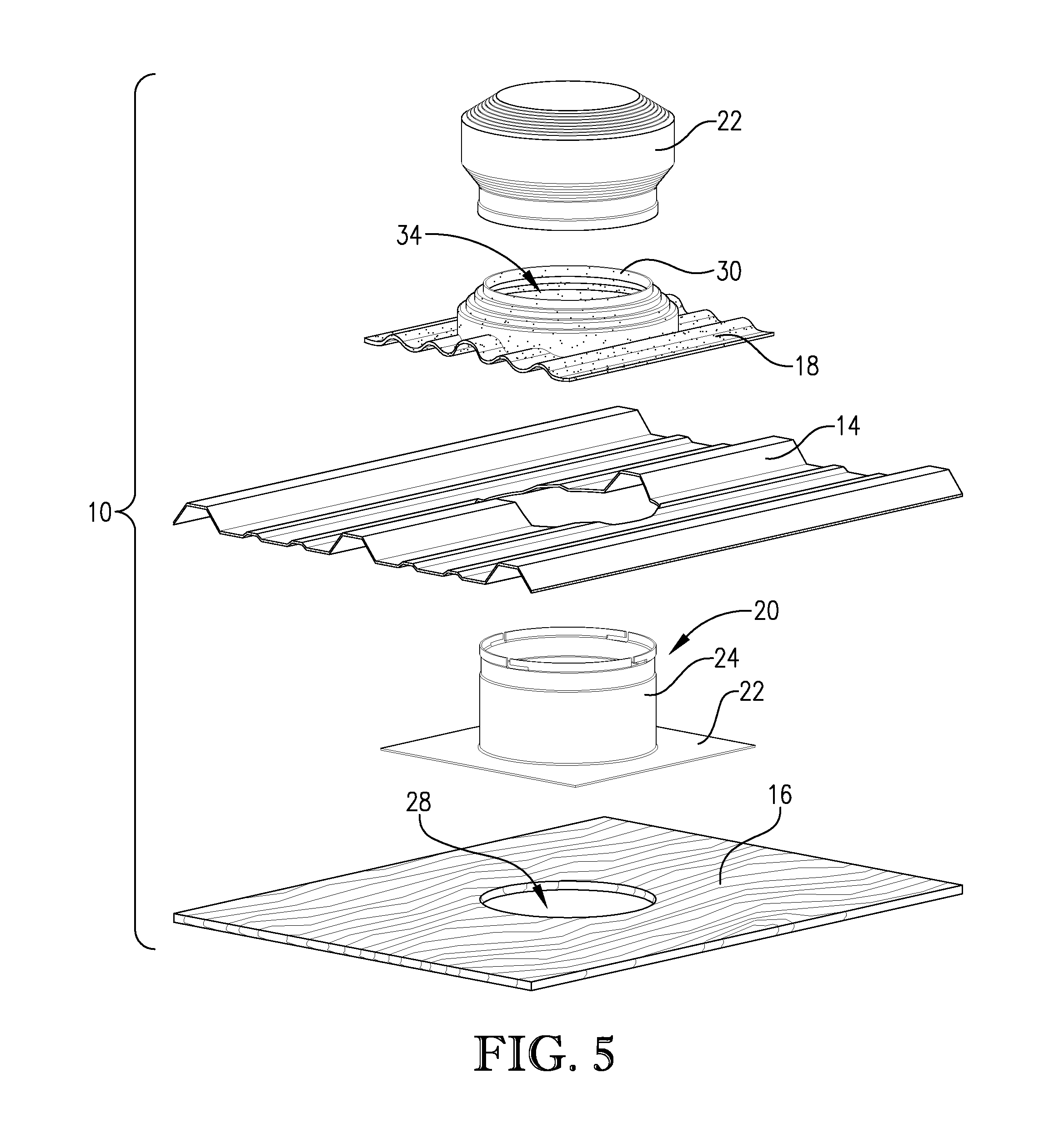 Patent Us20120073239 Flexible Based Roof Vent For Metal