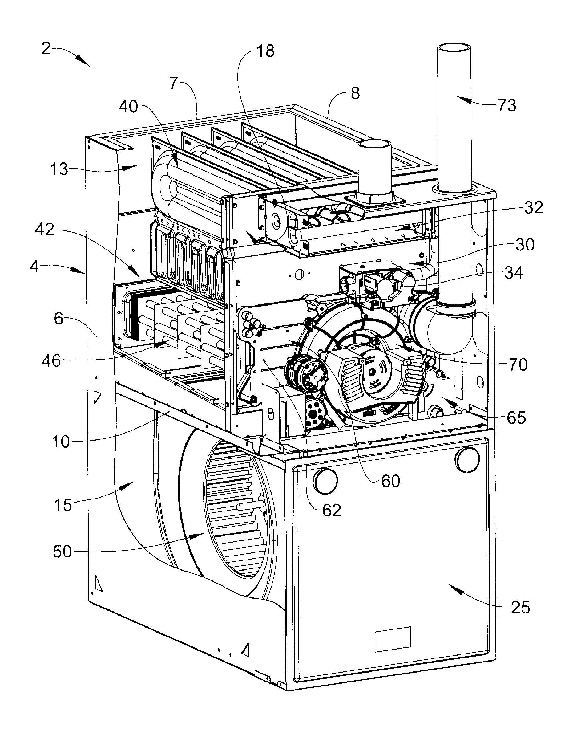 Patent Us20120090591 Gas Furnace Condensate Collector