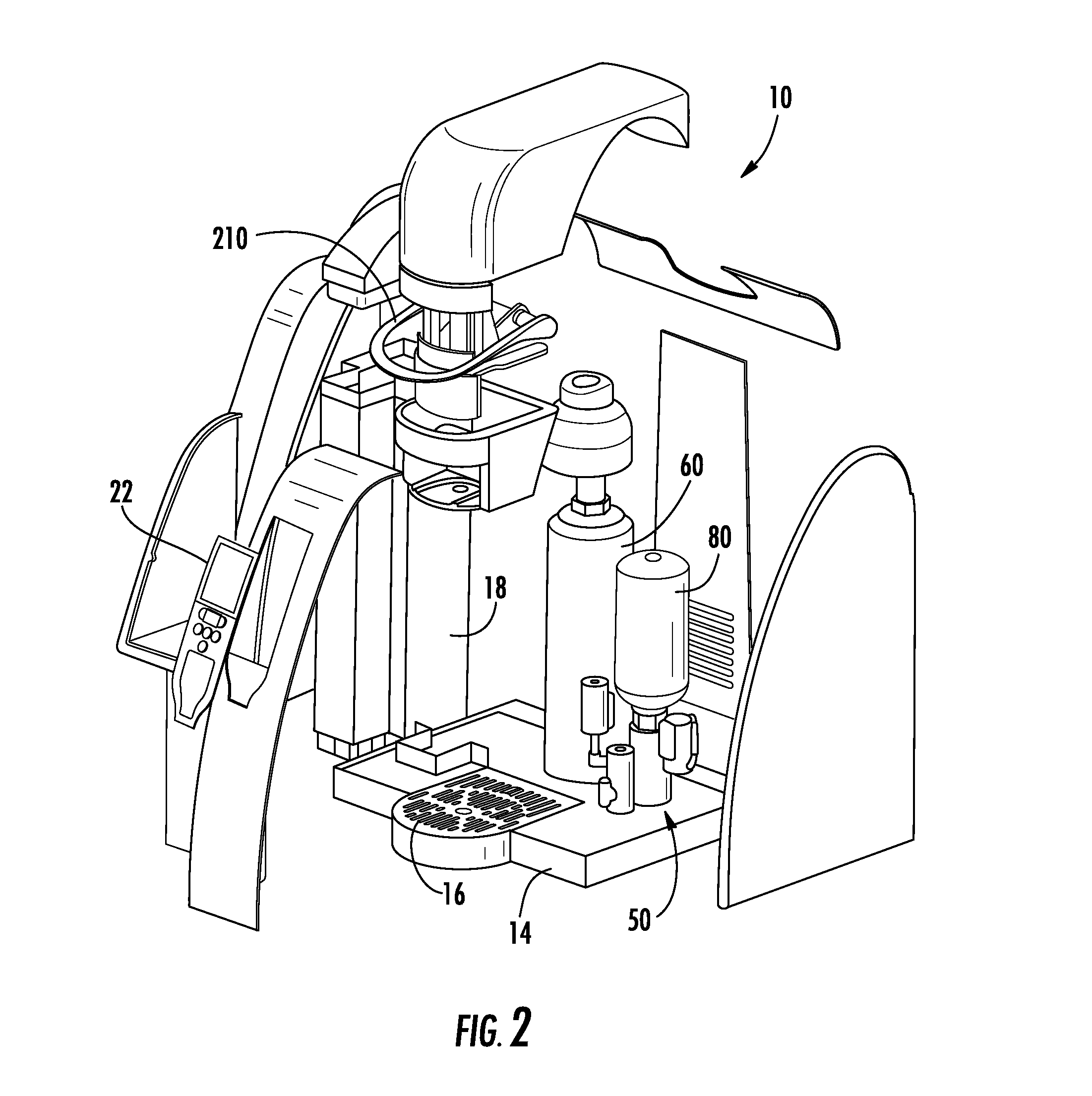 Keurig Coffee Maker Exploded View : Patent US20120107463 - Select serving and flavored sparkling beverage maker - Google Patents