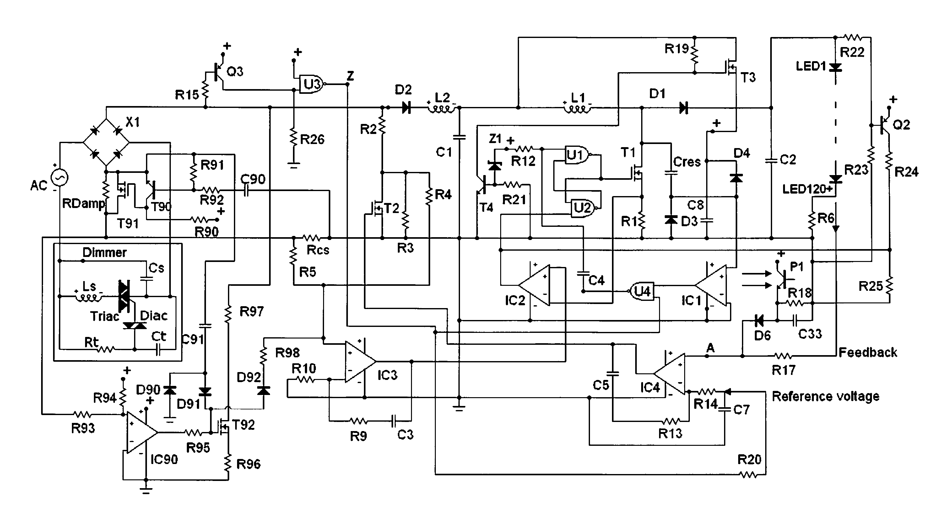 Patent Us20120169240 Semi Resonant Switching Regulator Power Buck Converter With Igbt And Basic Loss Reduction Networks Drawing