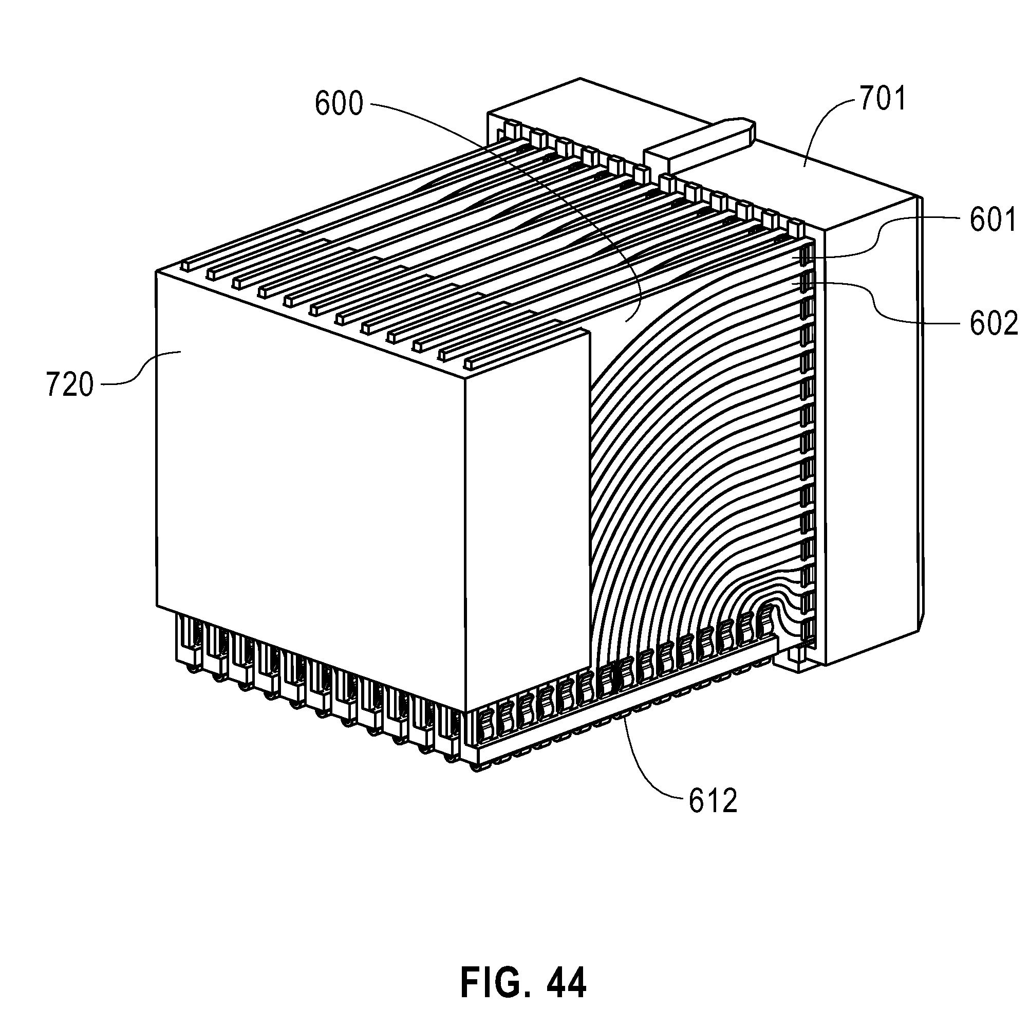 patent us20120178273 - tall mezzanine connector