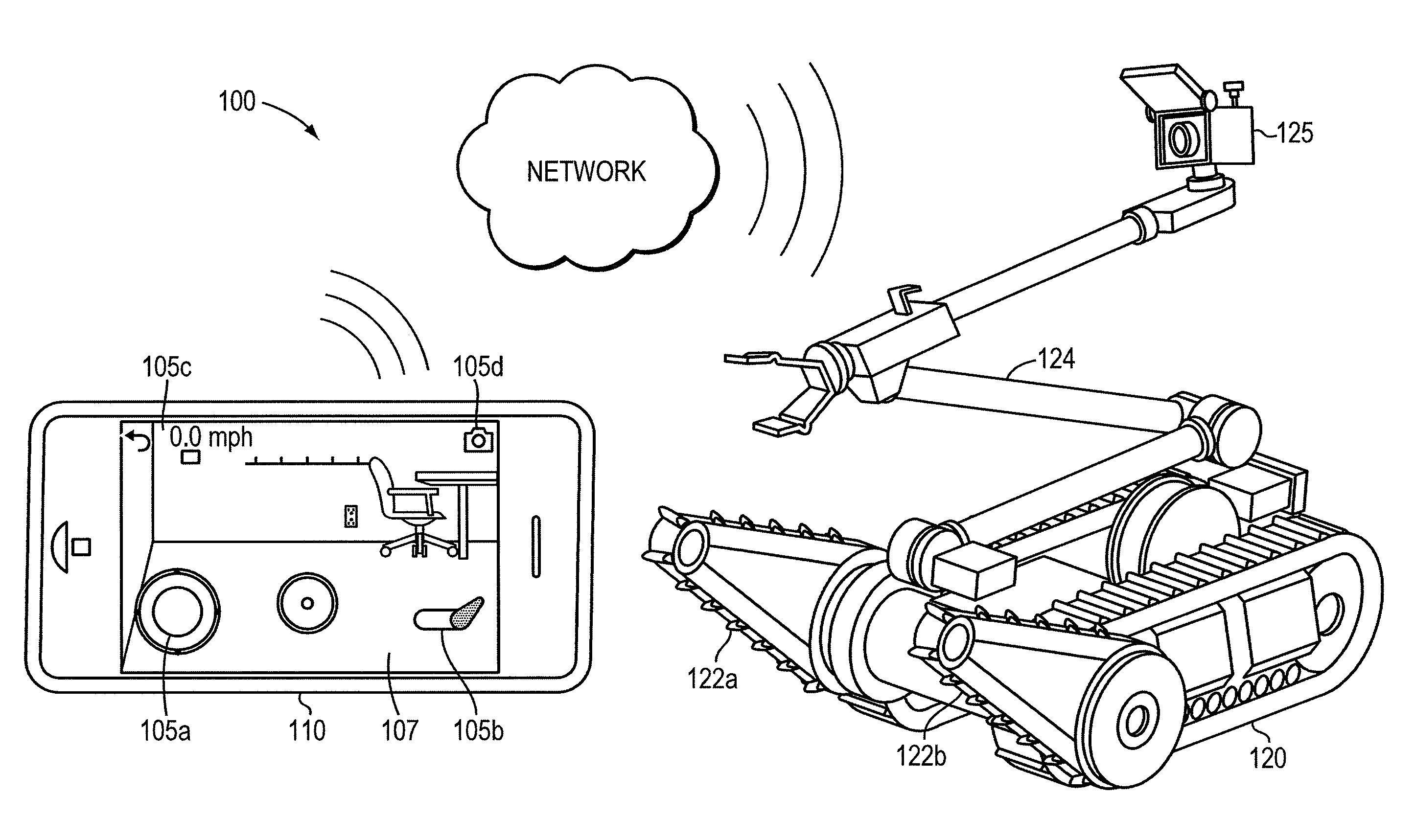 patent us20120191269 - teleoperation of unmanned ground vehicle