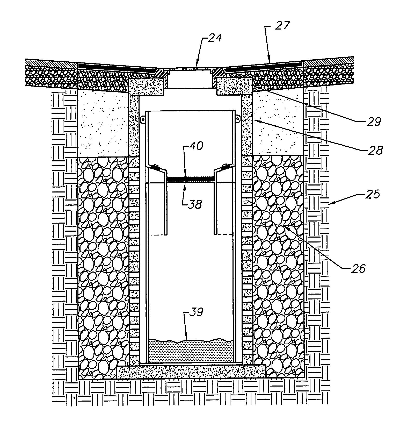 Patent Us20120195686 Drywell Retrofit Sump Insert For