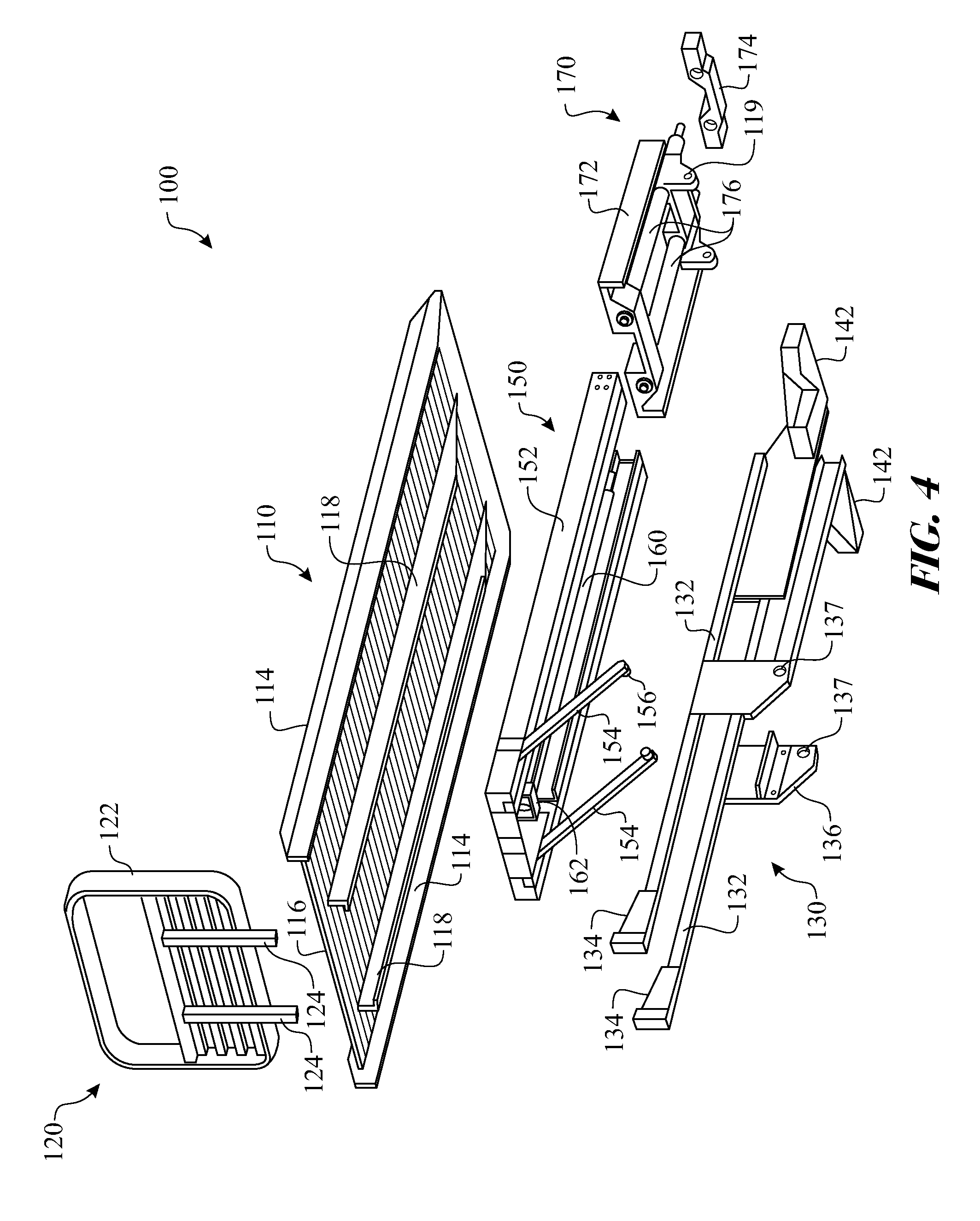 Patent Us20120195722 - Flatbed Tow Truck Pivoting Platform Assembly And Method Of Use