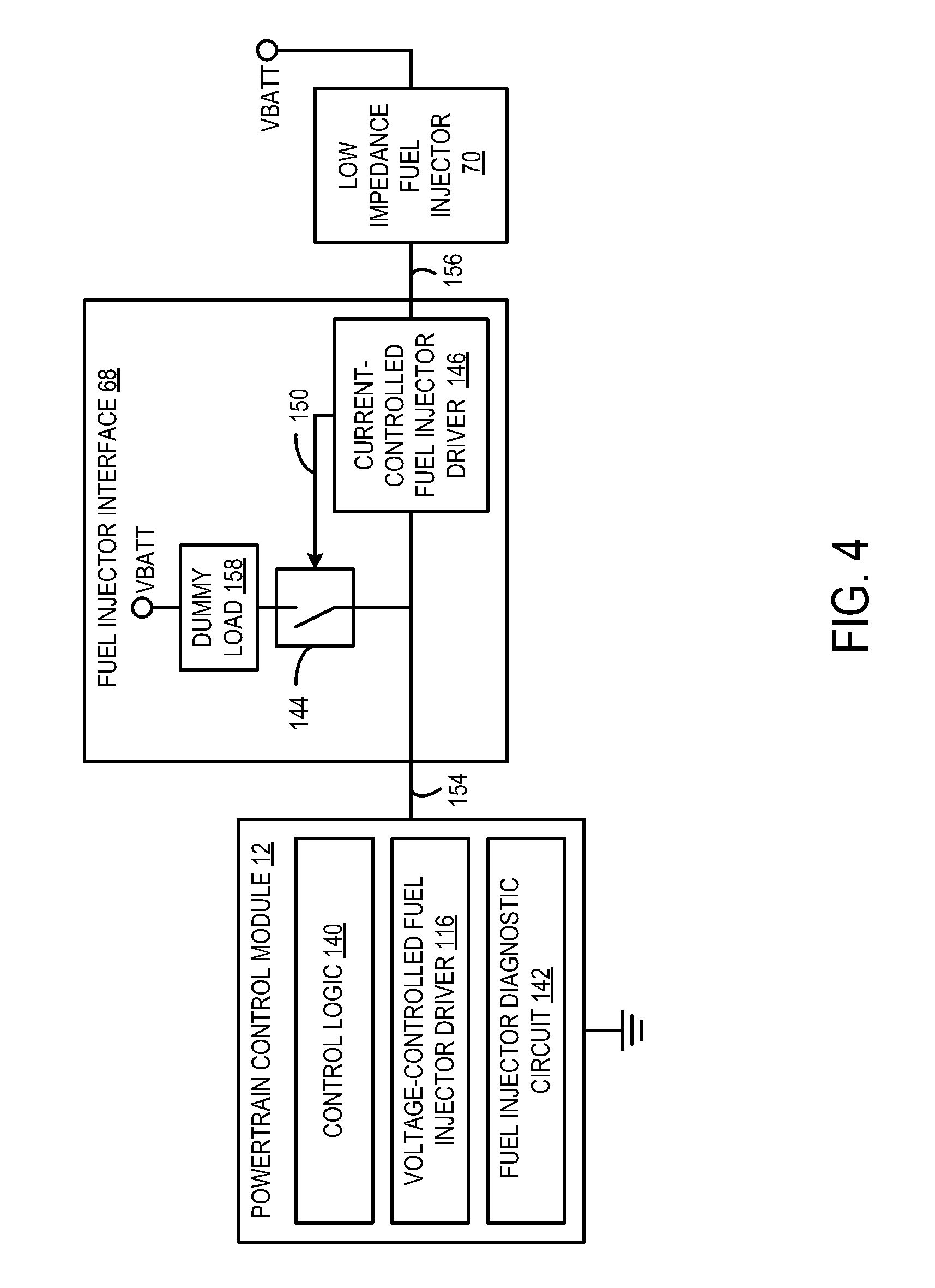 Patent Us20120203442 Fuel Injector Interface And Diagnostics Dummy Load Circuit Constant Current Schema Drawing