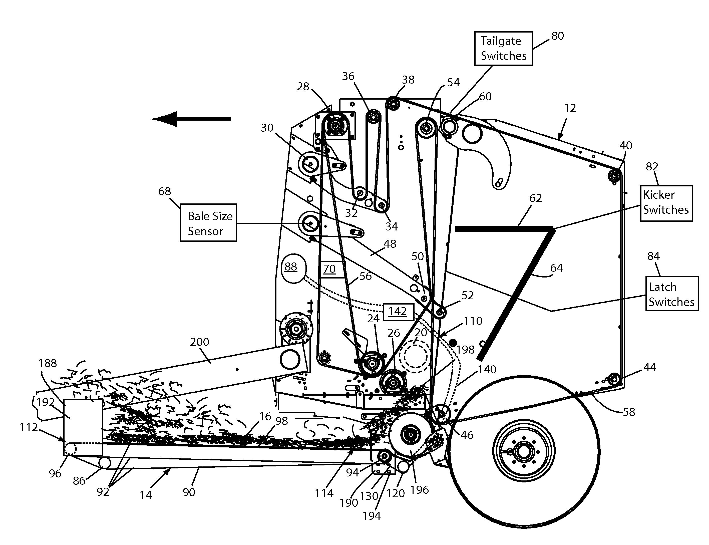 Patent Us20120234651 - Continuous Round Baler