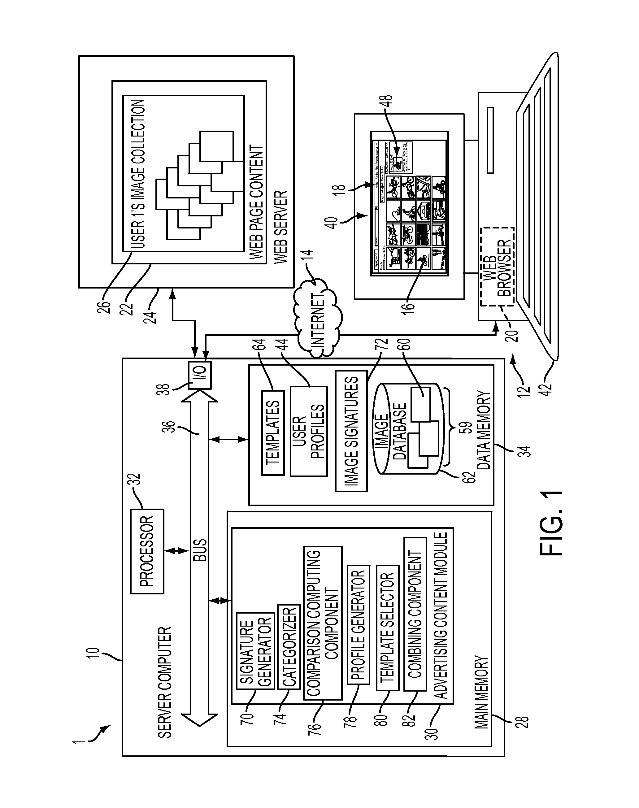 Patent US20120239506 - System and method for advertising using image ...