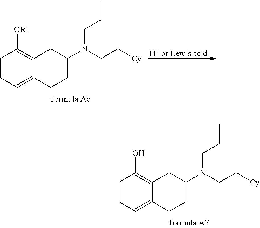 New Aminotetraline Derivatives