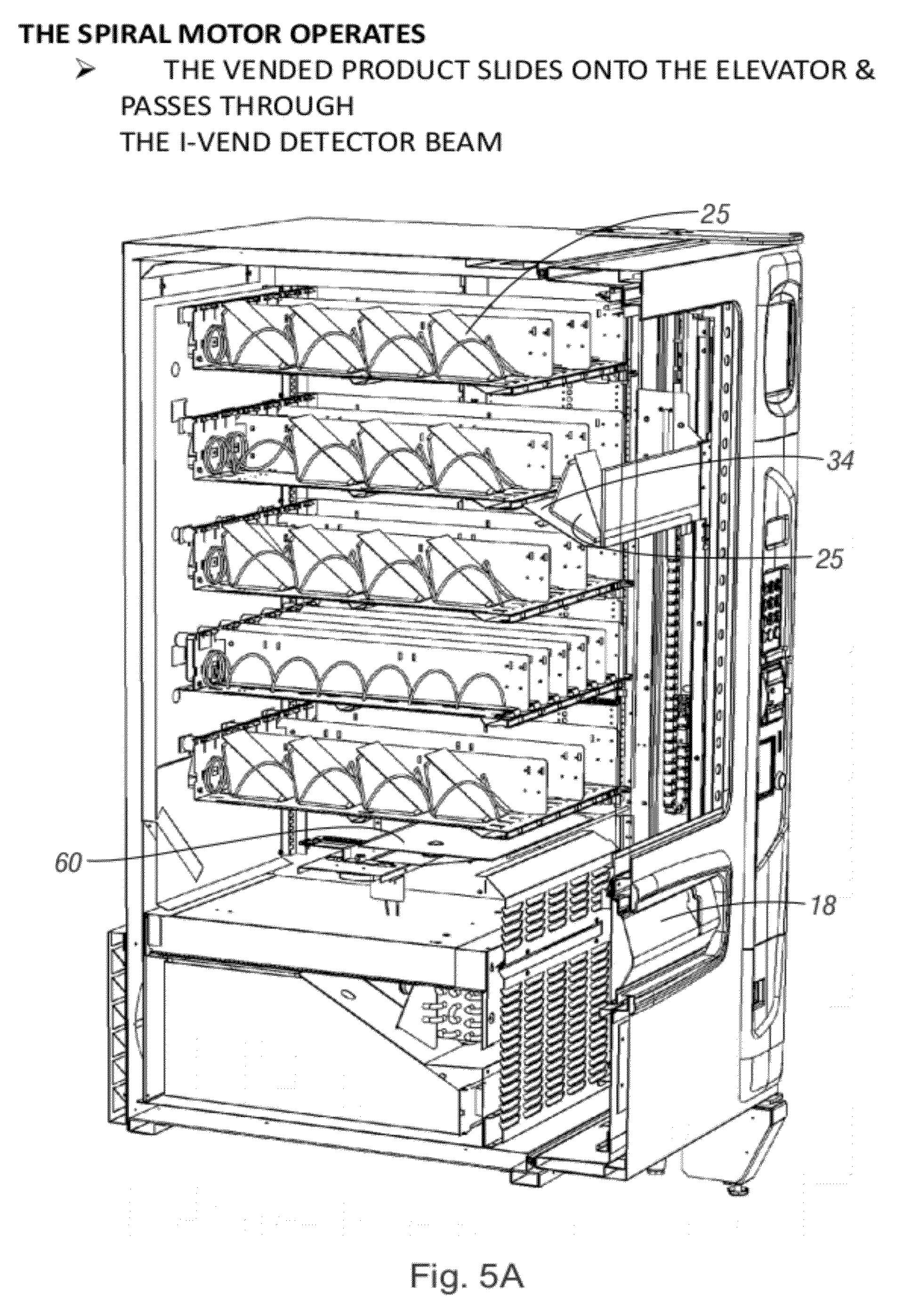 Patent Us20120277904 Vending Machine With Elevator