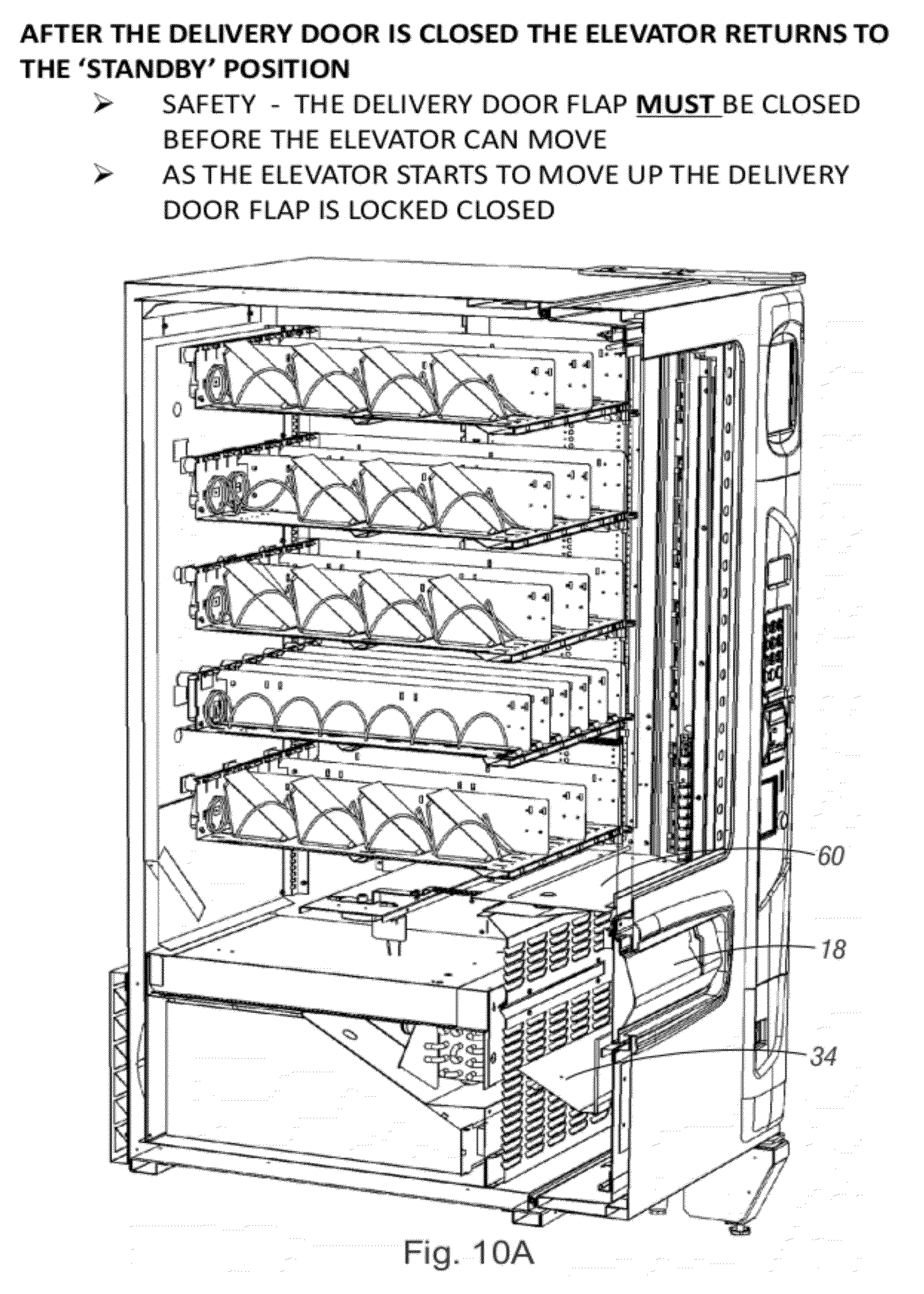 Patent Us20120277904 Vending Machine With Elevator