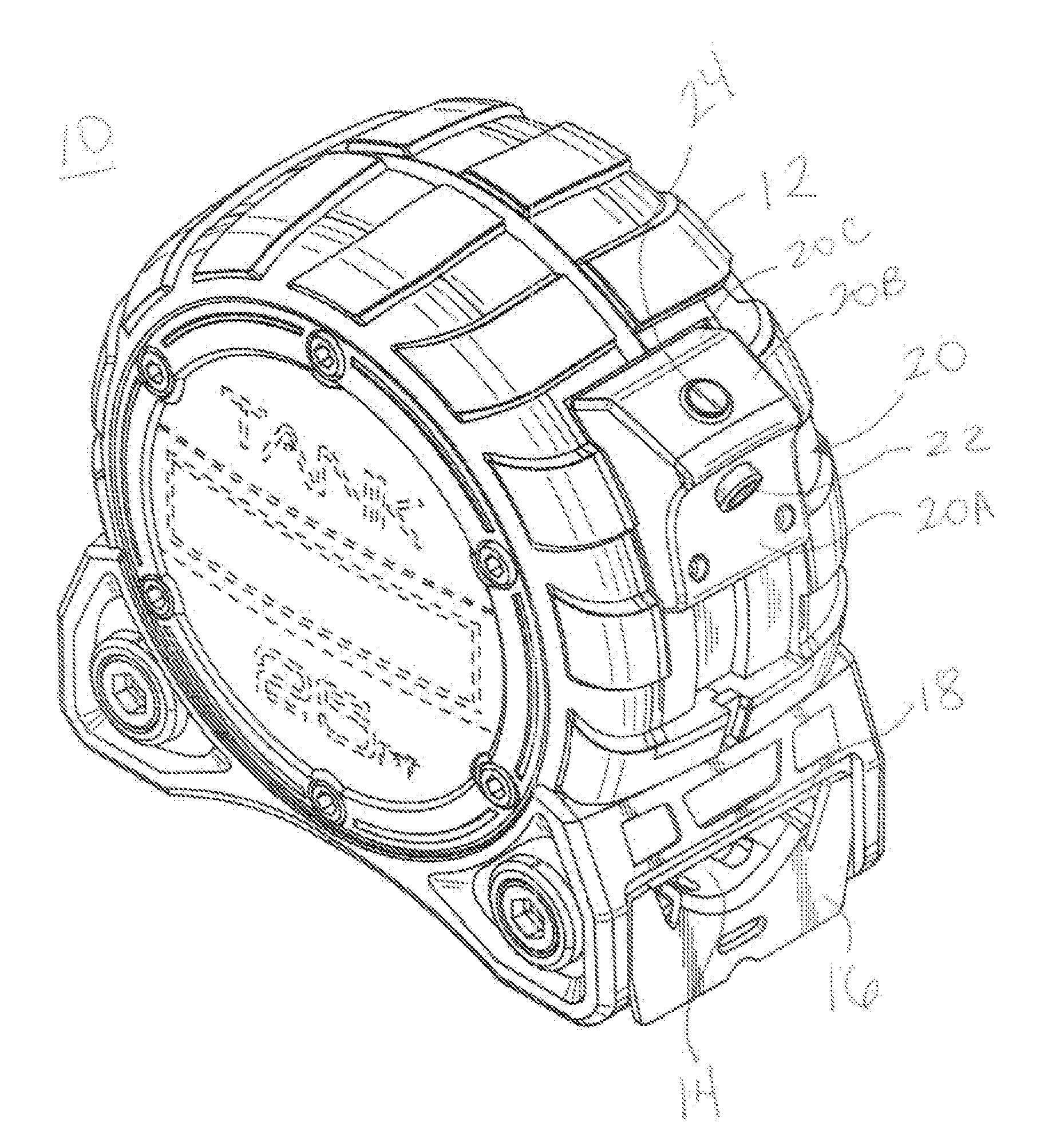 It is an image of Candid Measuring Tape Drawing