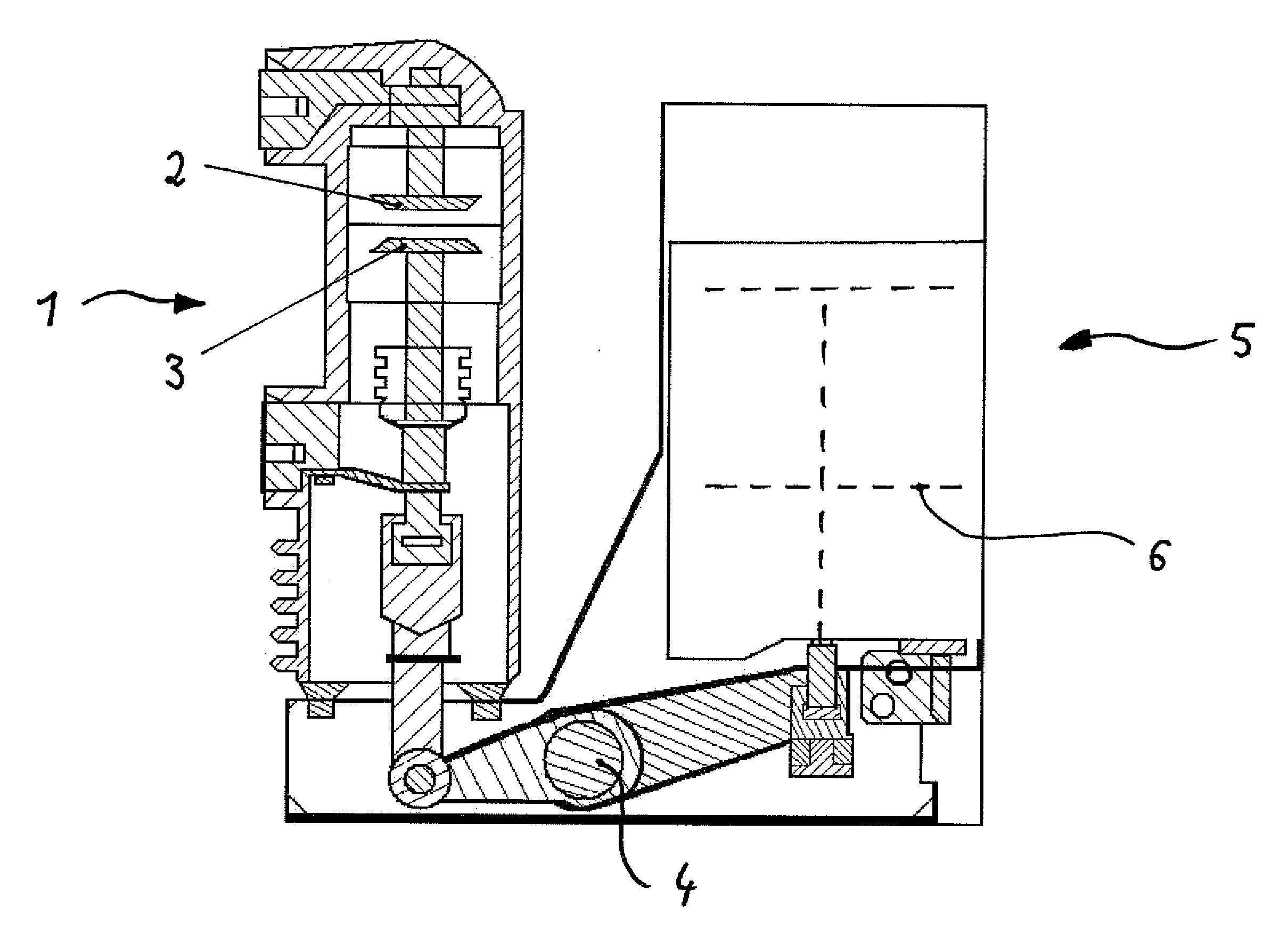 patent us20120286905 - bistable magnetic actuator for a medium voltage circuit breaker