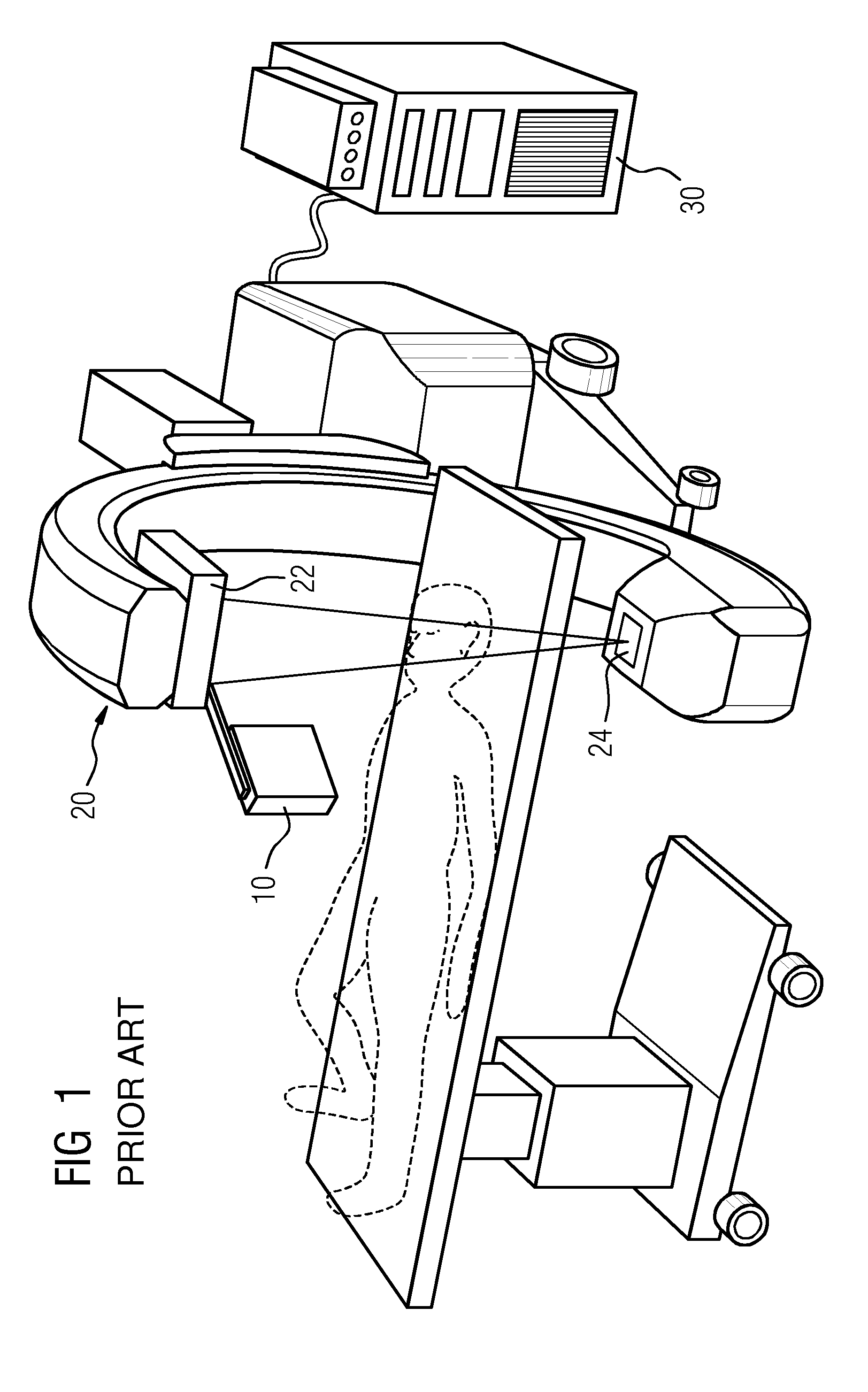 patent us20120289821 - c-arm integrated electromagnetic tracking system