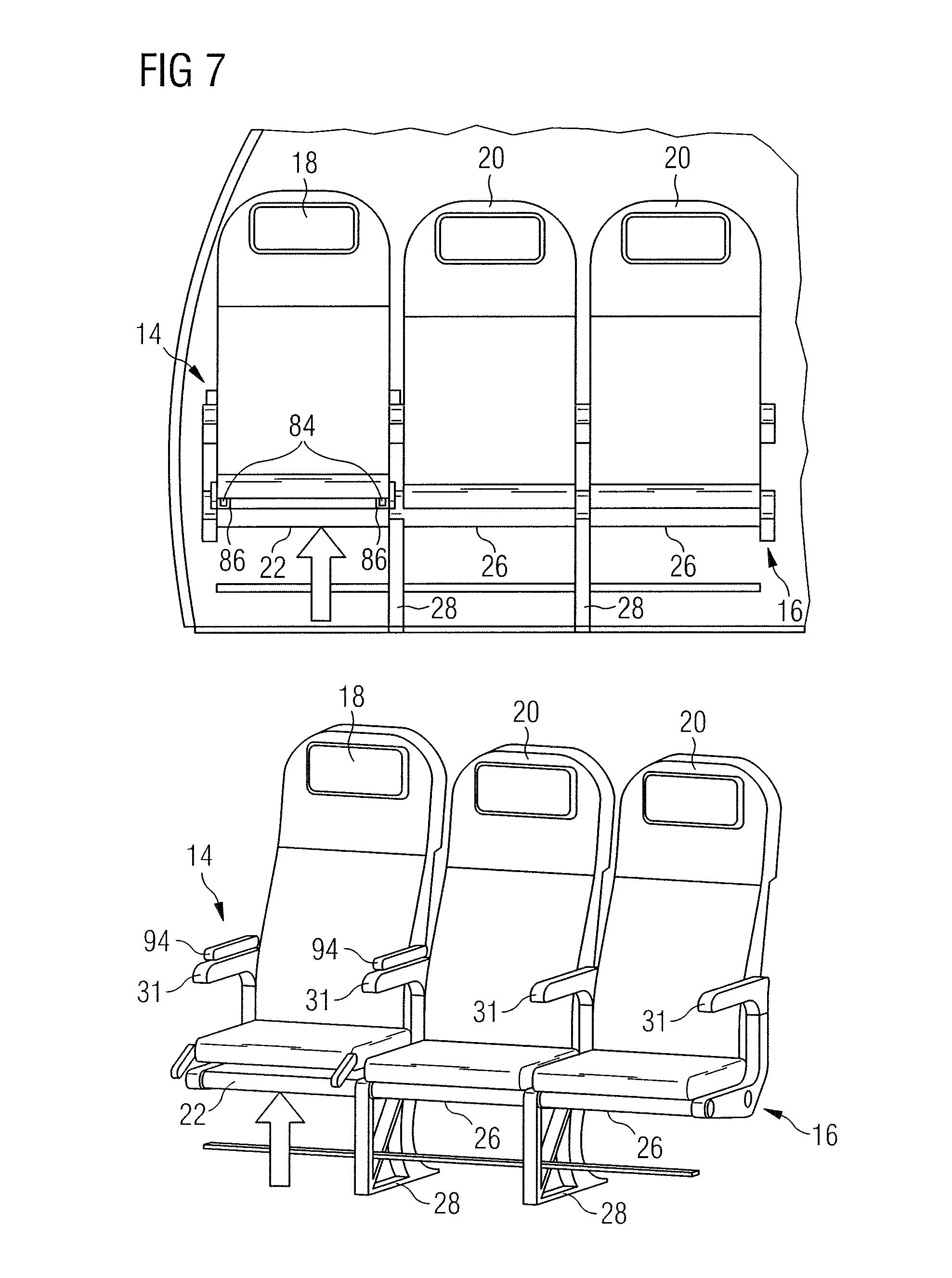 Aircraft Seats: Aircraft Seat Assembly For Aircraft
