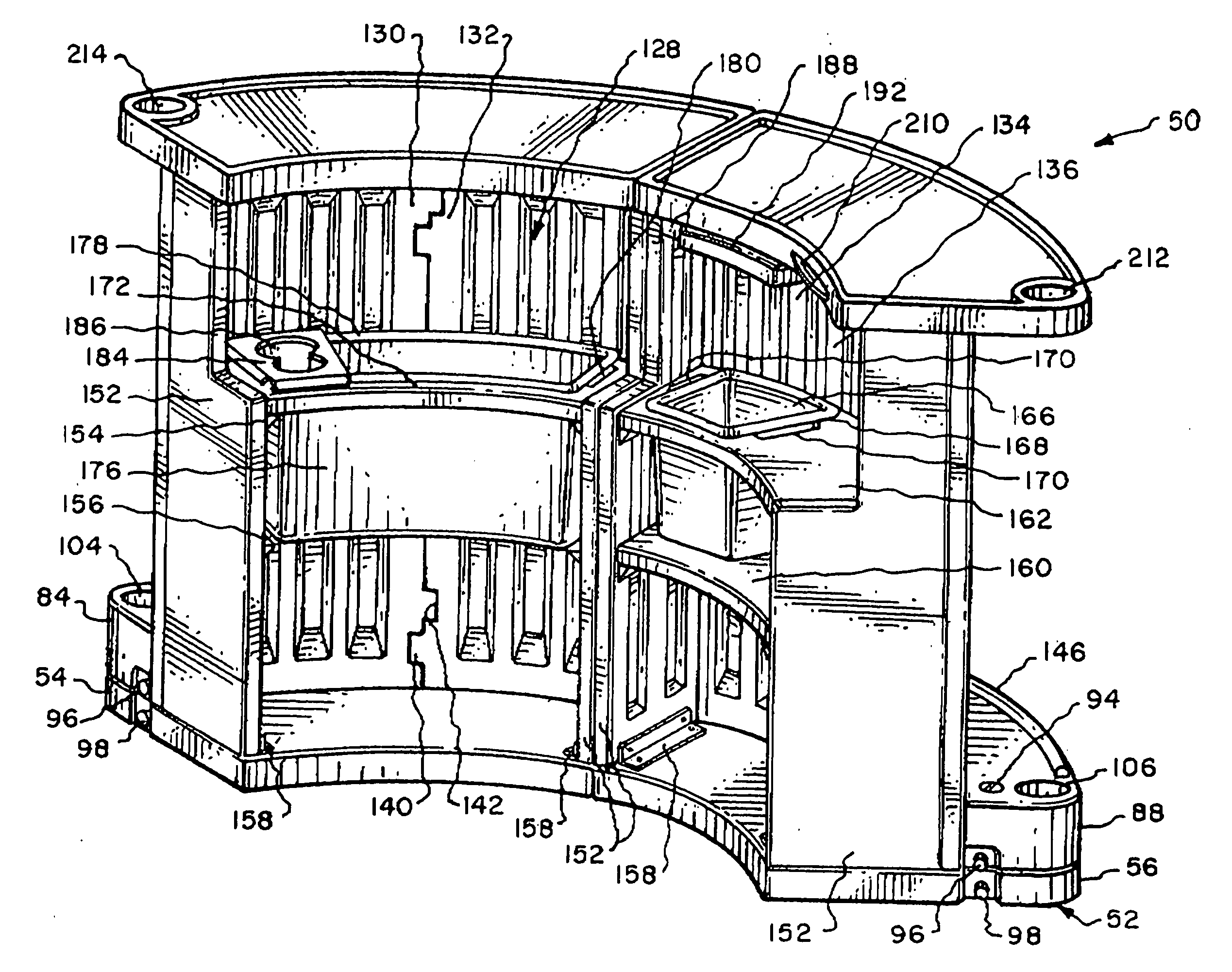 Patent US20120306330 - Portable bar with interchangeable ...