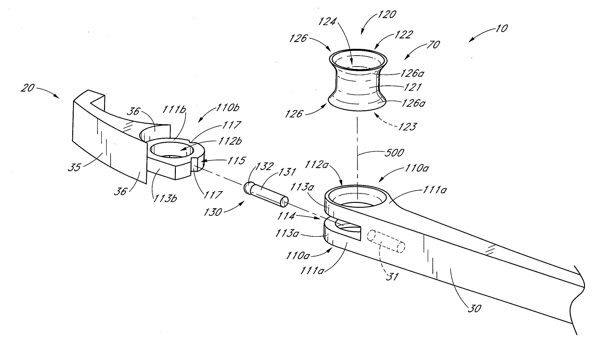 Eyeglass Frame Parts Diagram : Patent US20130000077 - Hinge assembly for eyewear - Google ...